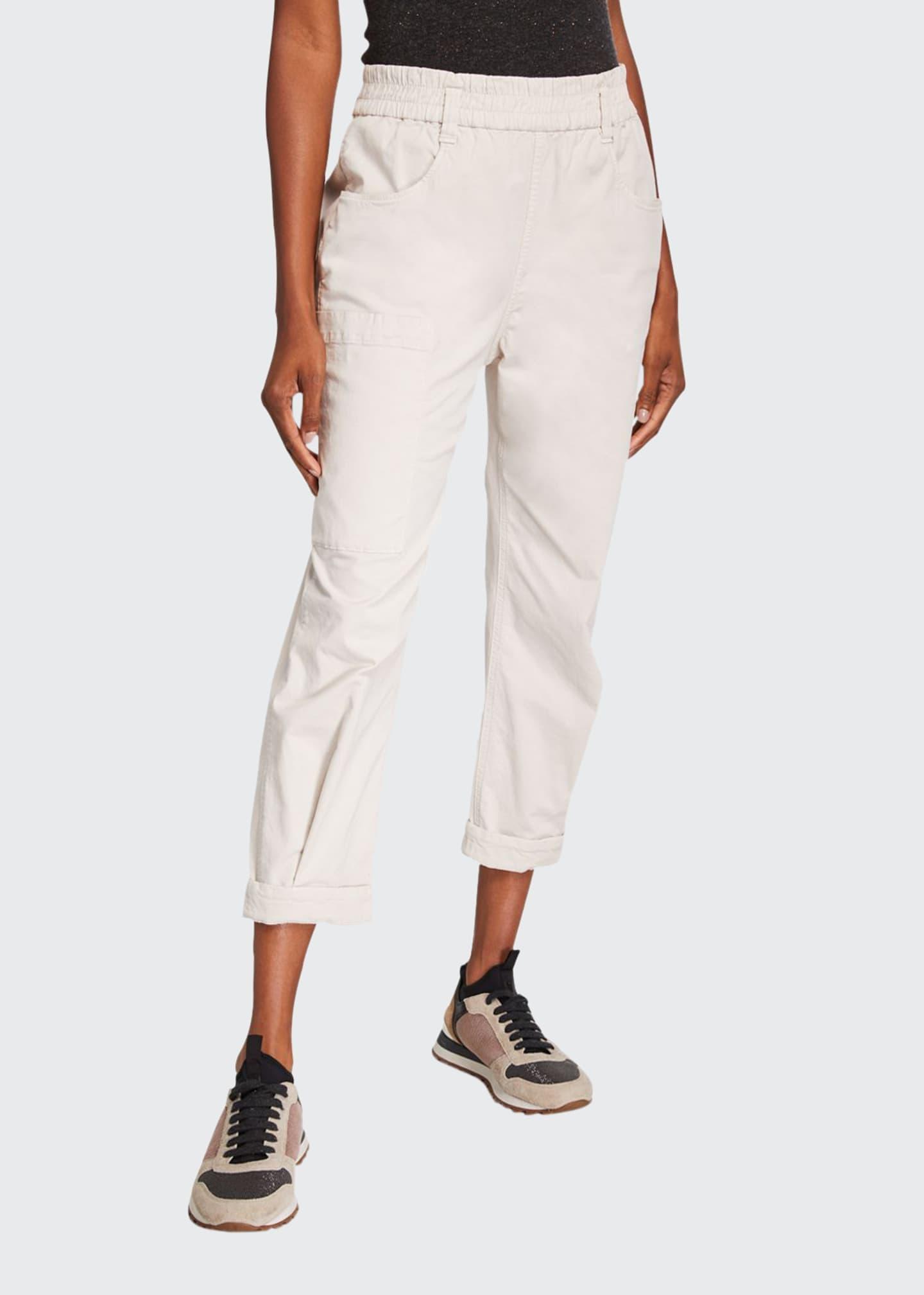 Brunello Cucinelli Cotton Utility Pants