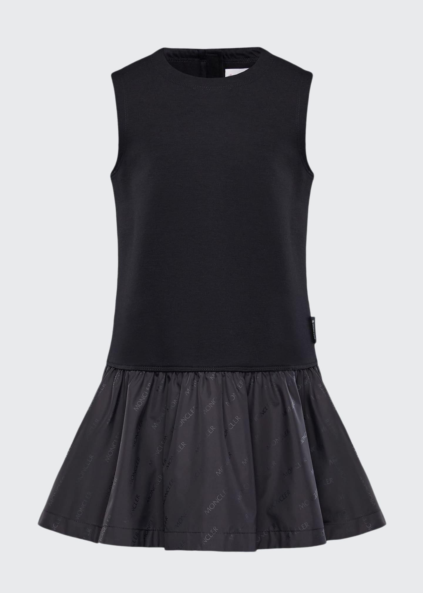 Image 1 of 2: Fit-&-Flare Logo Dress, Size 4-6