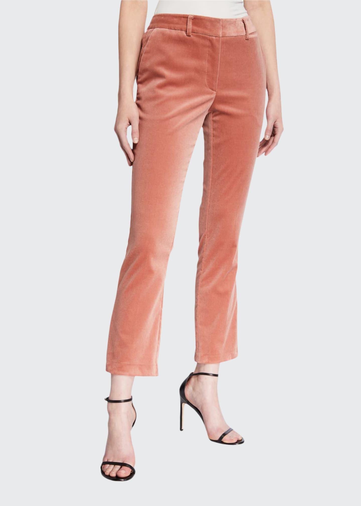 FRAME Le Cropped Mini Boot Corduroy Pants