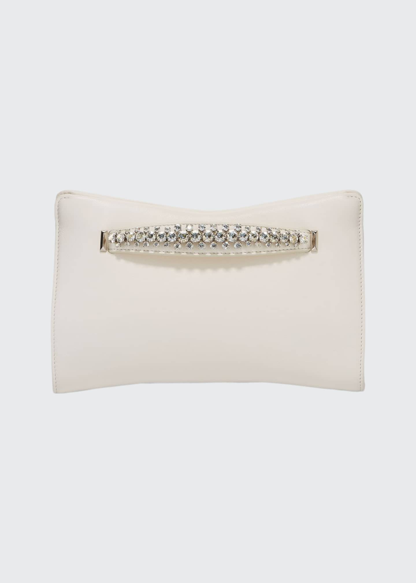 Jimmy Choo Venus Napa Leather Clutch