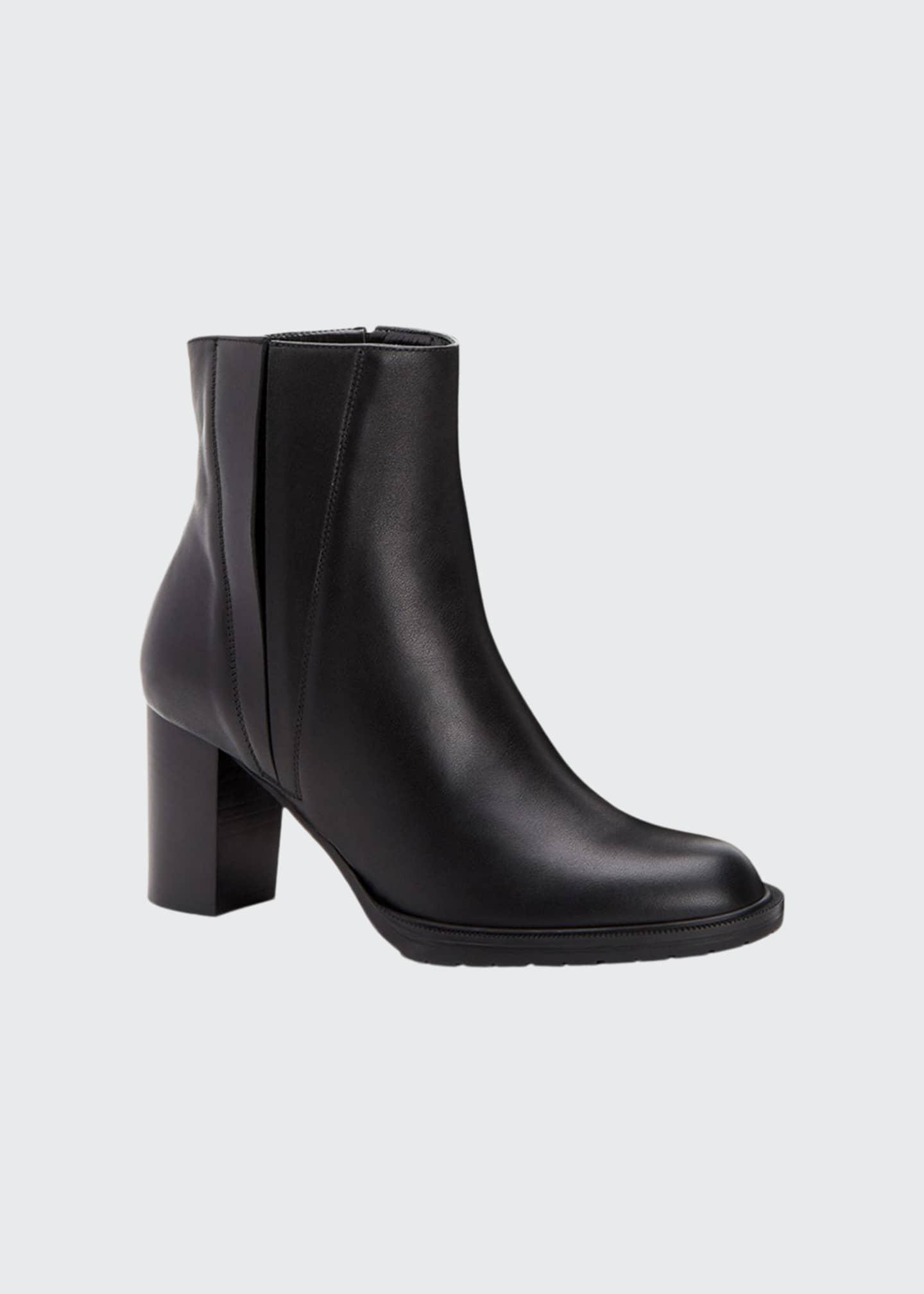Aquatalia Betsy Split Leather Booties