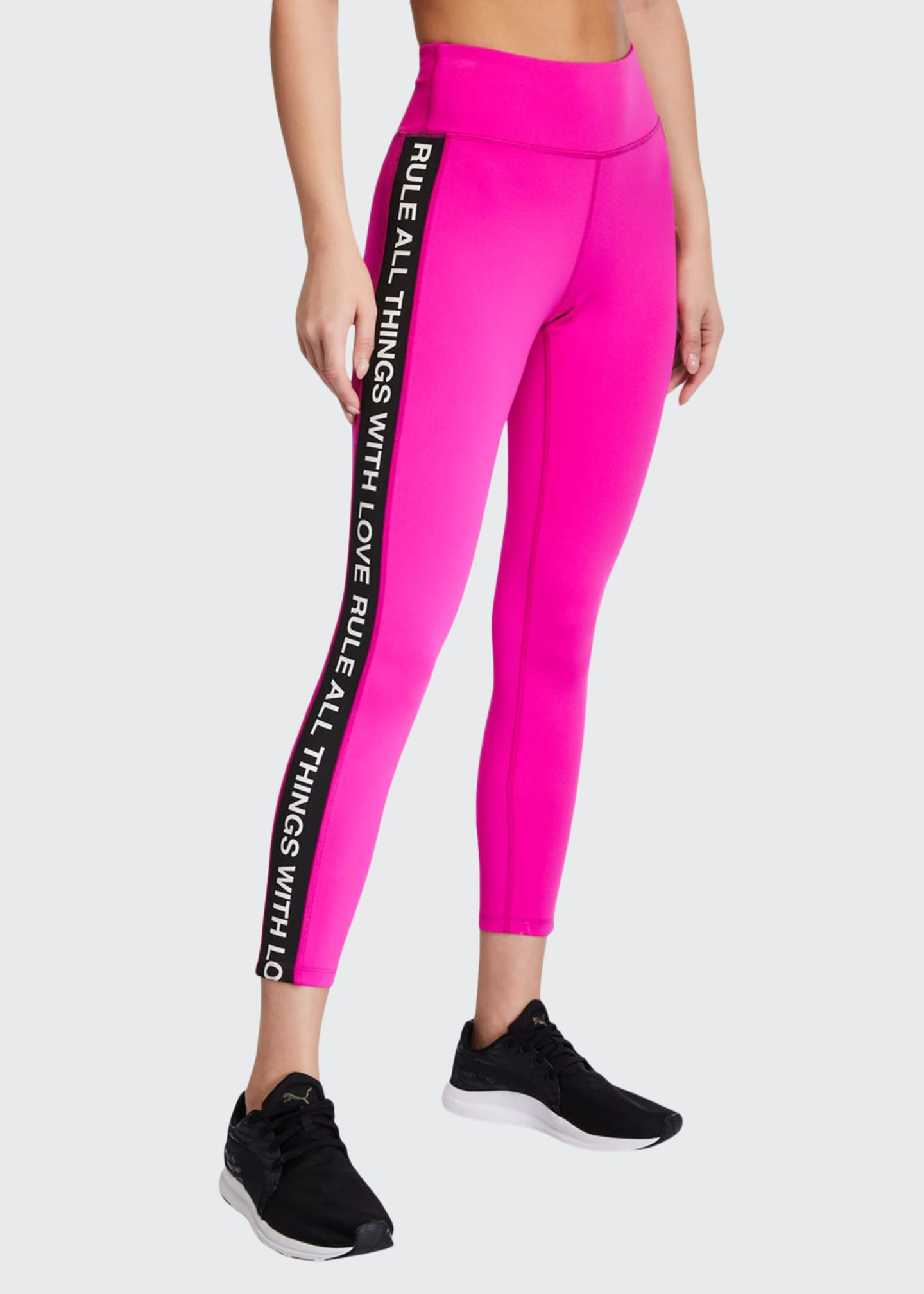 Image 1 of 3: Side-Stripe 7/8 Active Leggings