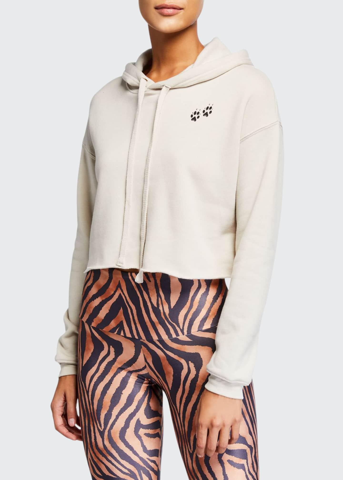 Onzie Cropped Hooded Sweatshirt