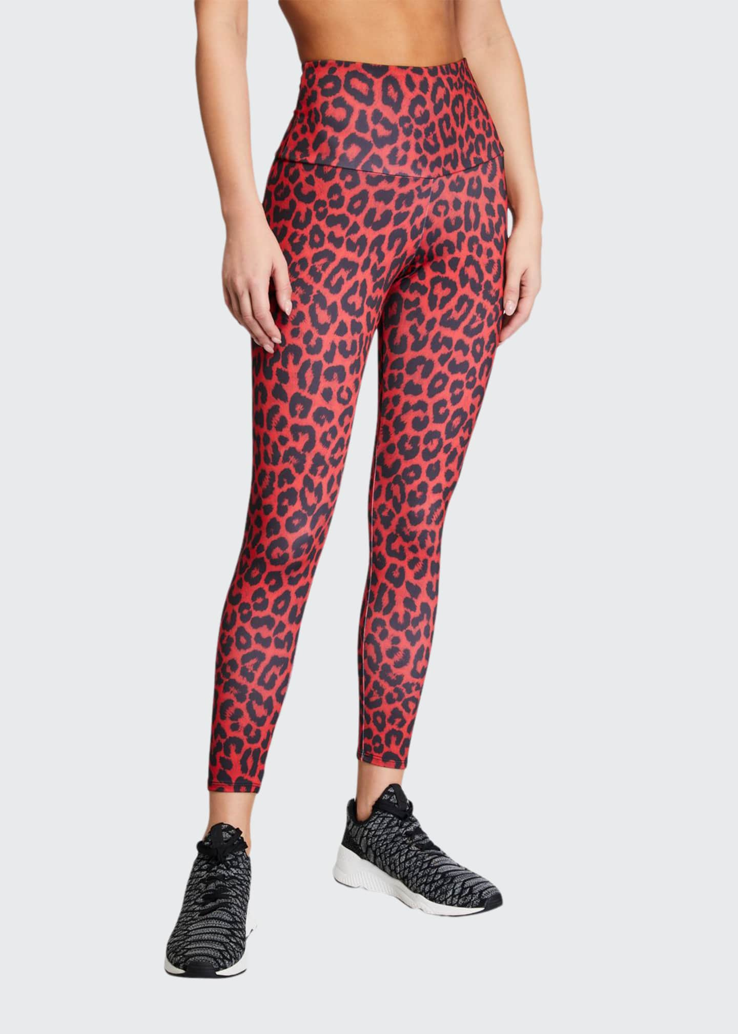 Onzie High Basic Midi Leopard Leggings