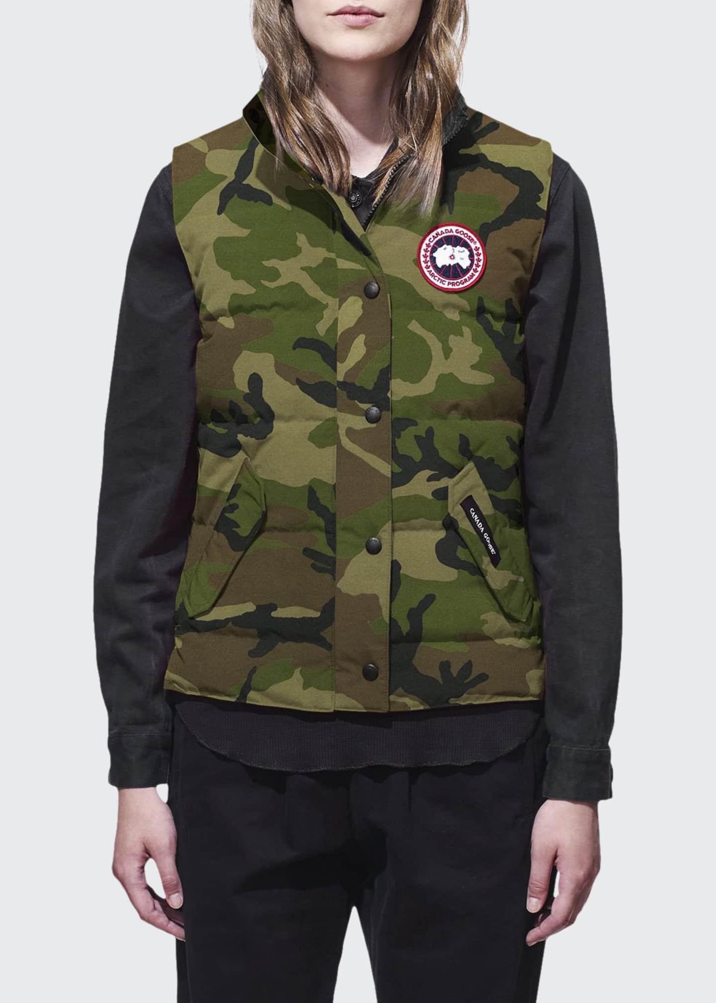 Canada Goose Freestyle Camo Puffer Vest