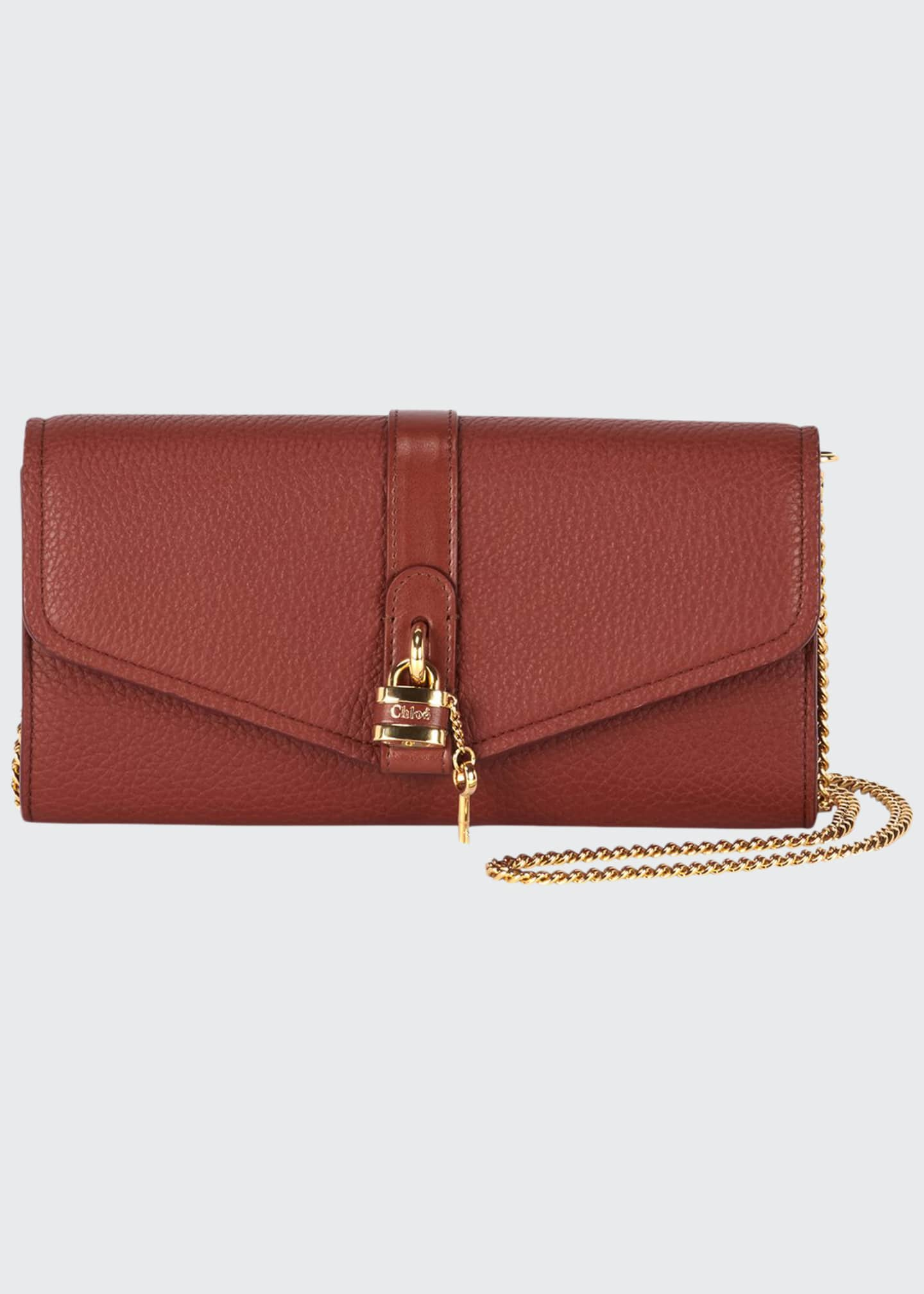 Image 1 of 3: Aby Long Flap Wallet on Chain
