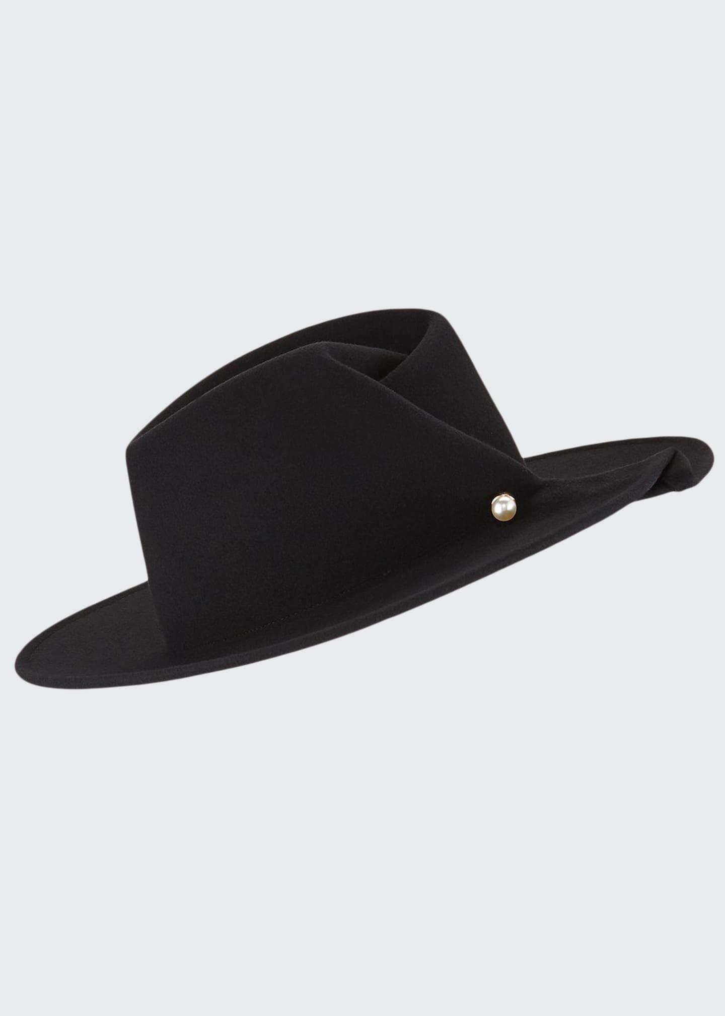 Eugenia Kim Giovanna Wool Fedora Hat