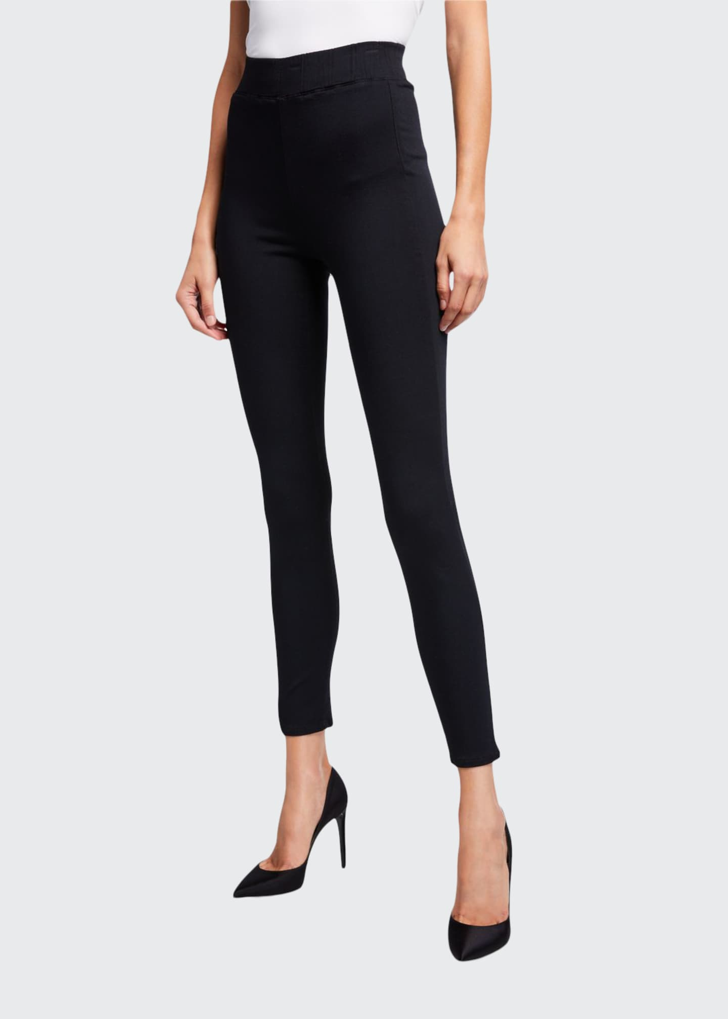 L'Agence Rochelle High-Rise Pull-On Jeans