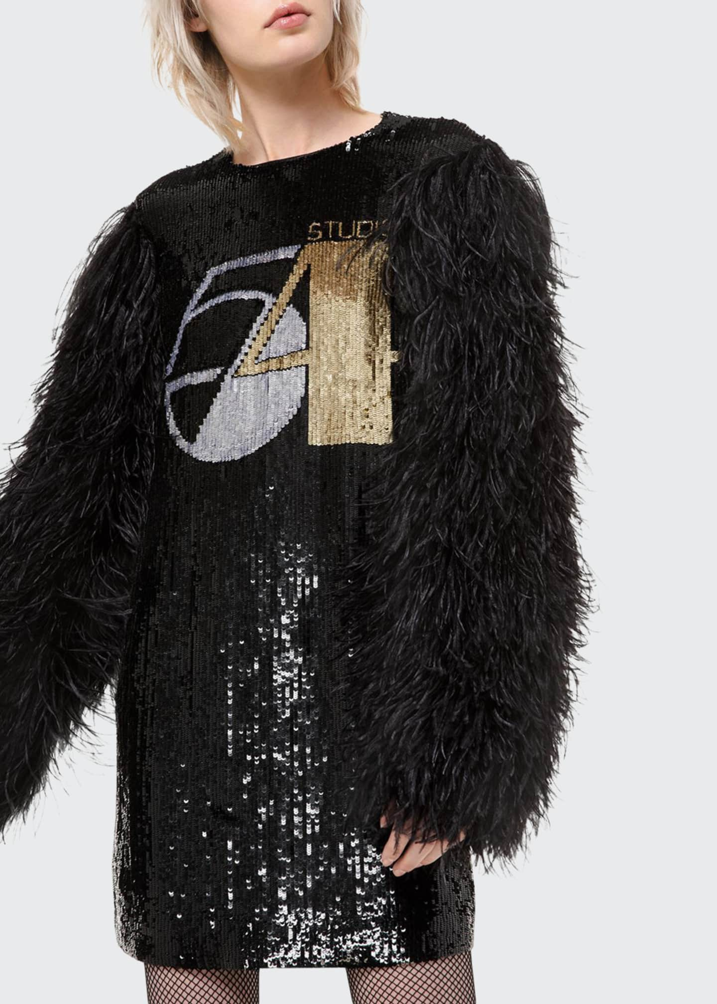 Michael Kors Collection Sequined Shift Dress
