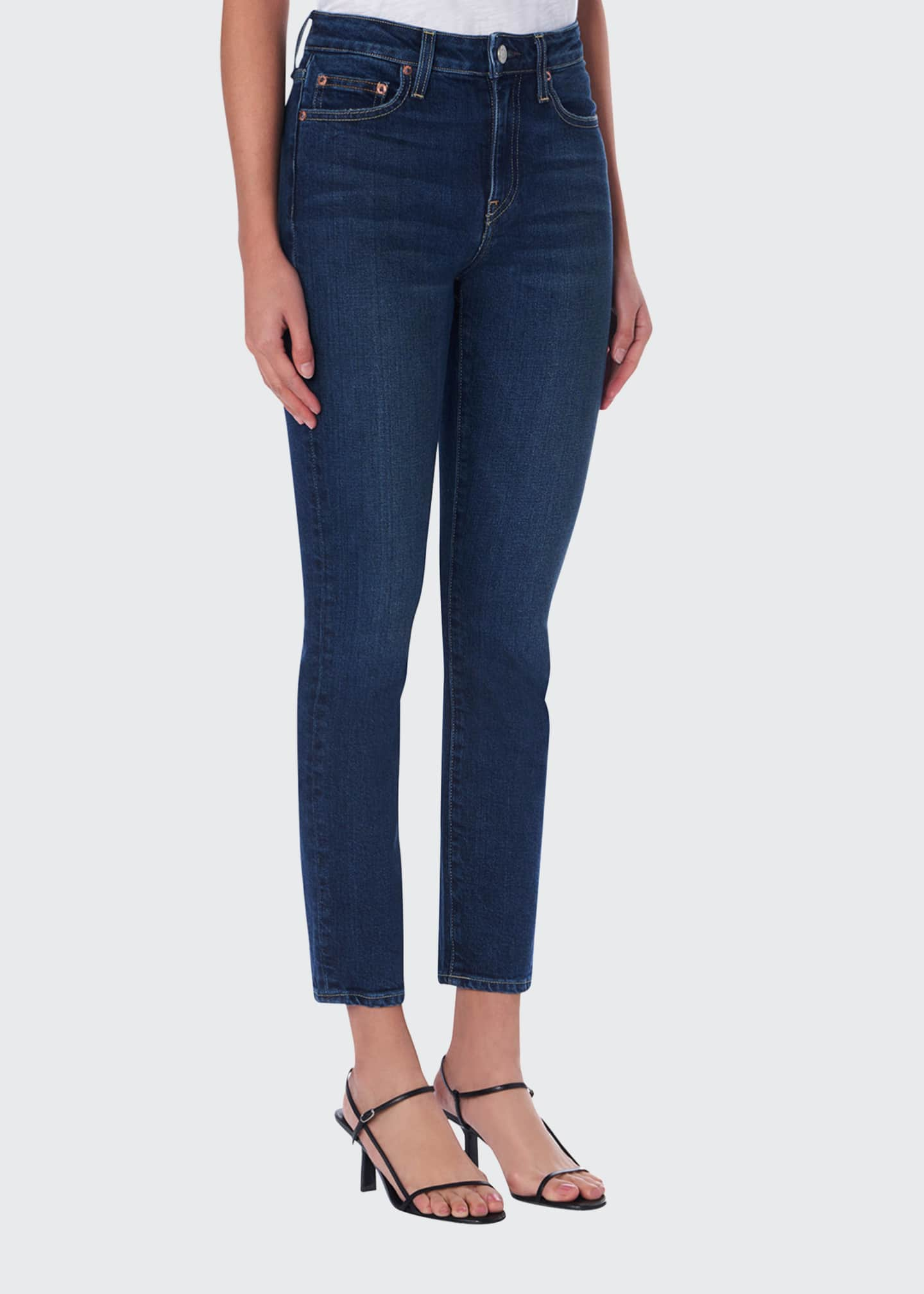 TRAVE Irina Mid-Rise Cigarette Jeans