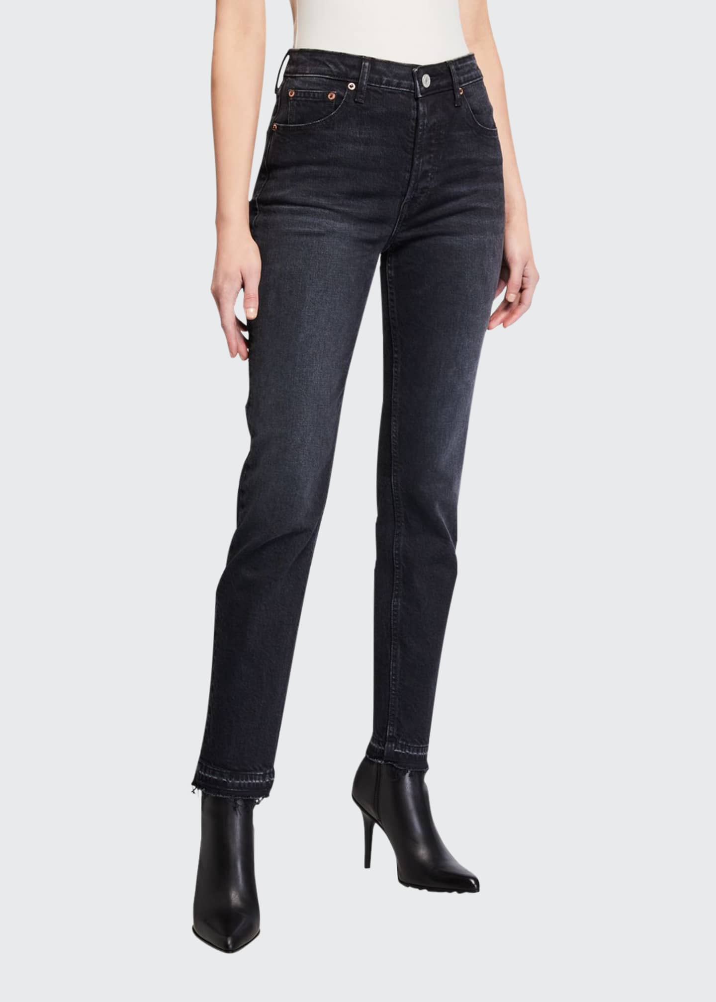 Image 1 of 3: Constance High-Rise Slim Ankle Jeans