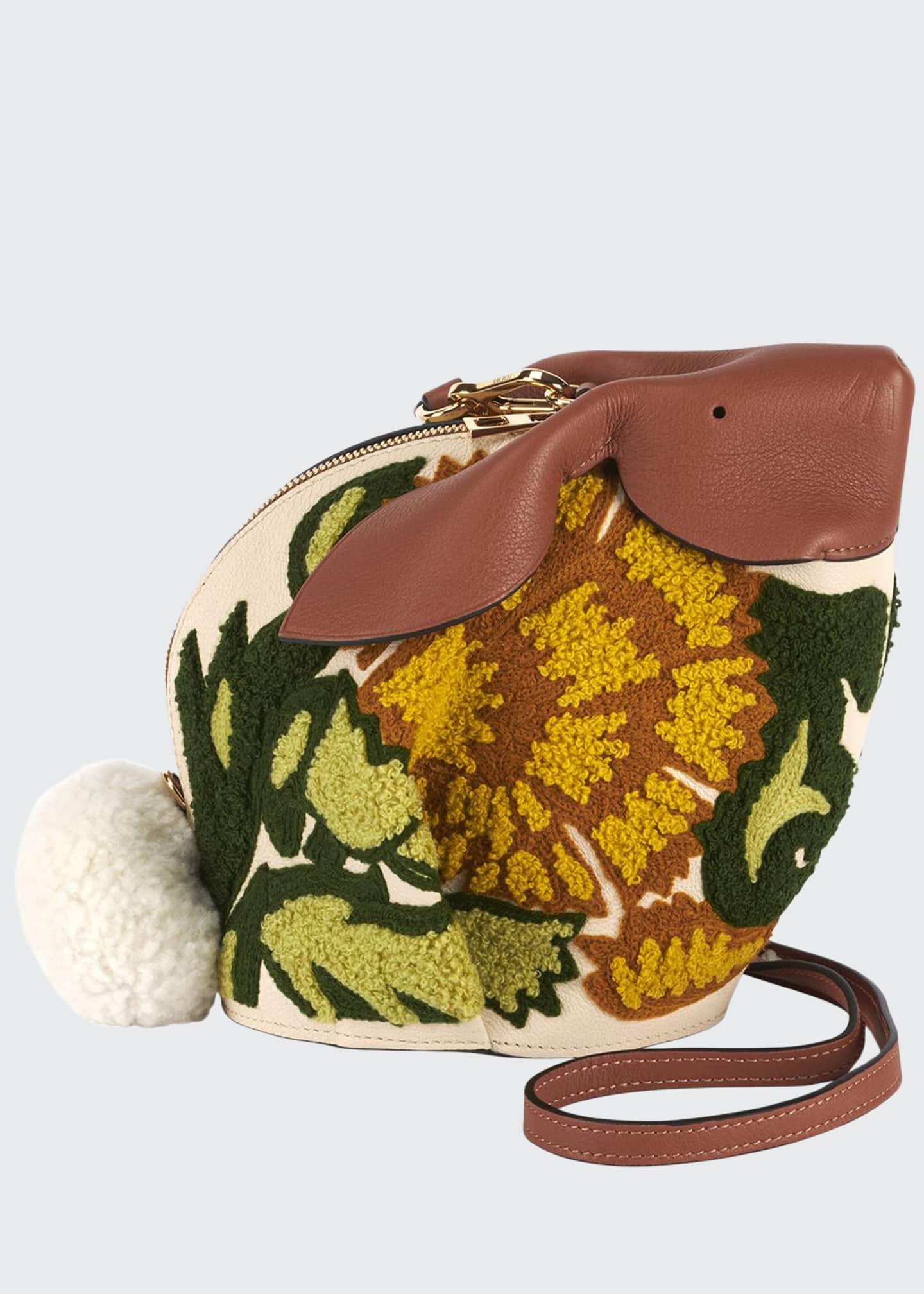 Loewe Bunny Floral Classic Crossbody Bag