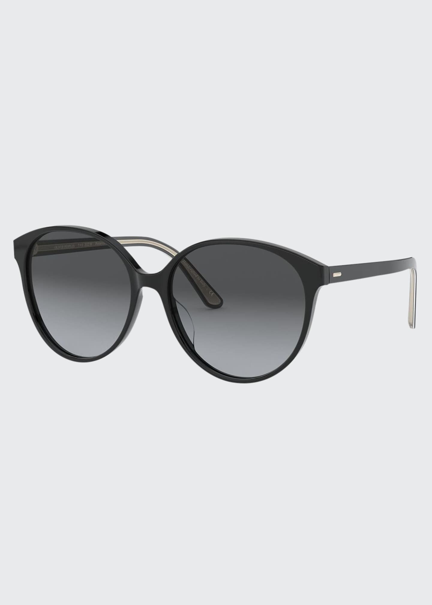 Image 1 of 2: Brooktree Polarized Oval Sunglasses
