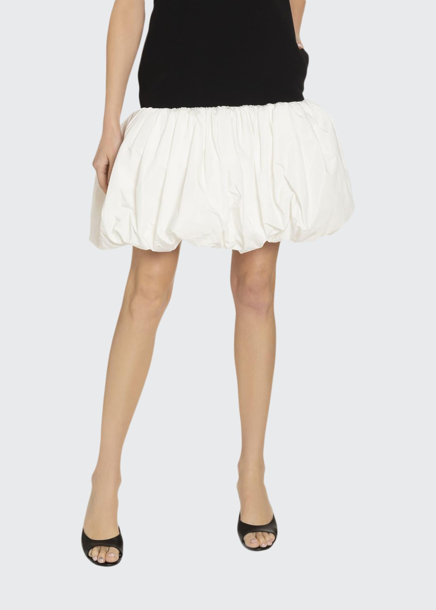 Givenchy Taffeta Balloon-Skirted Dress