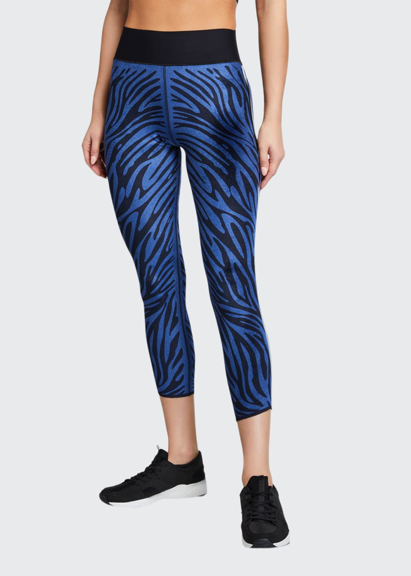 Image 1 of 3: Ultra High Velvet Zebra Leggings