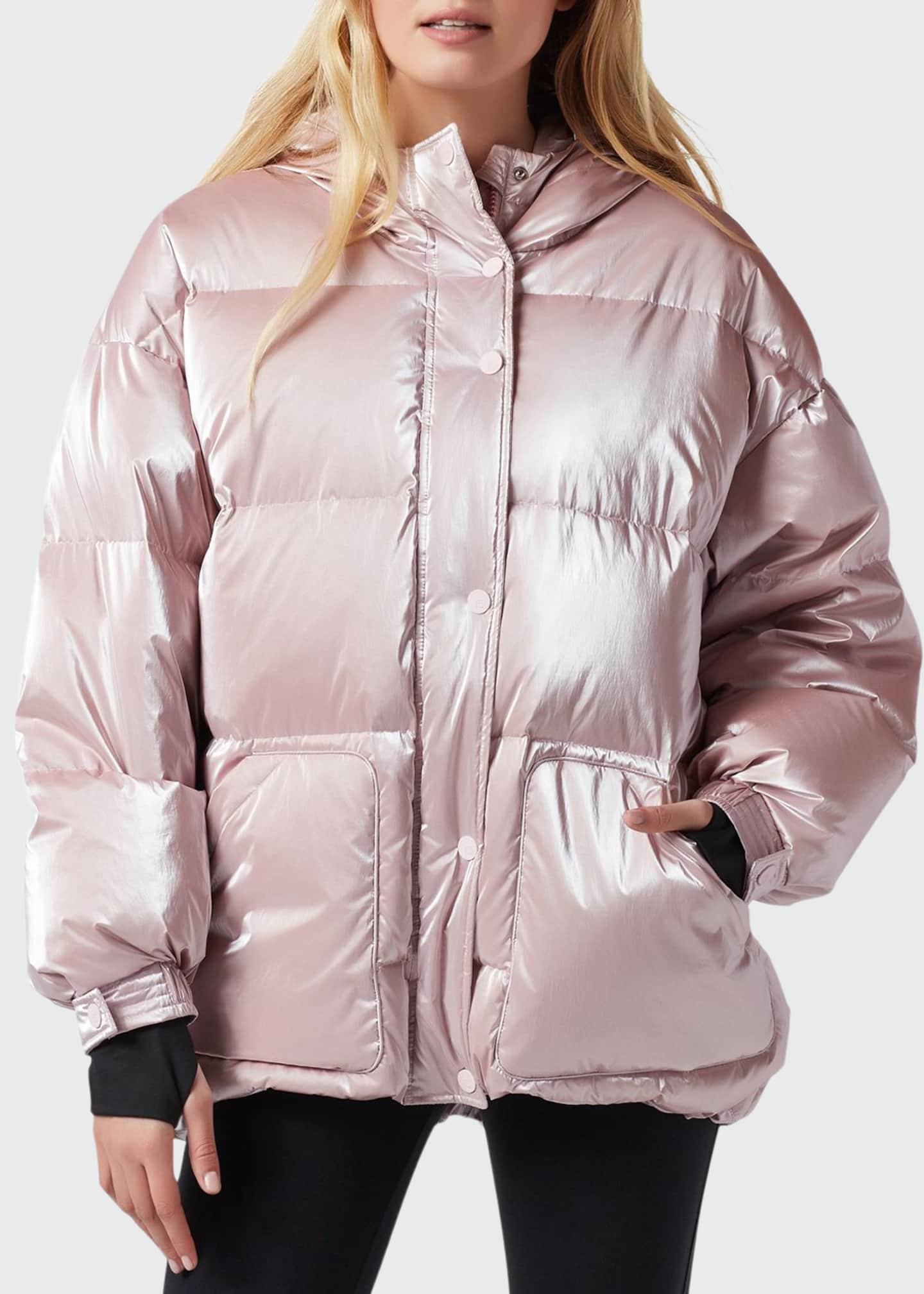 Blanc Noir Cortina Hooded Puffer Jacket