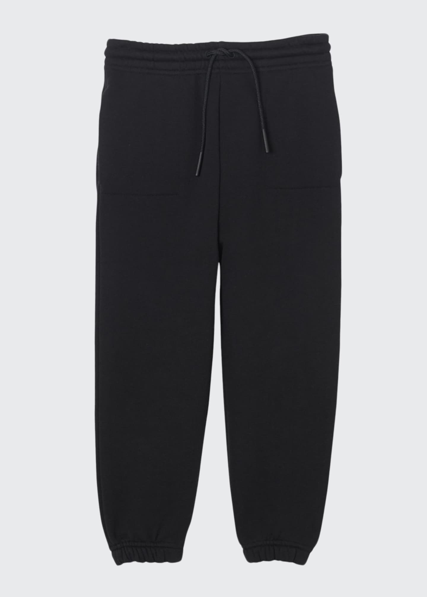 Burberry Boy's Luther Jogger Pants w/ Logo Patch,