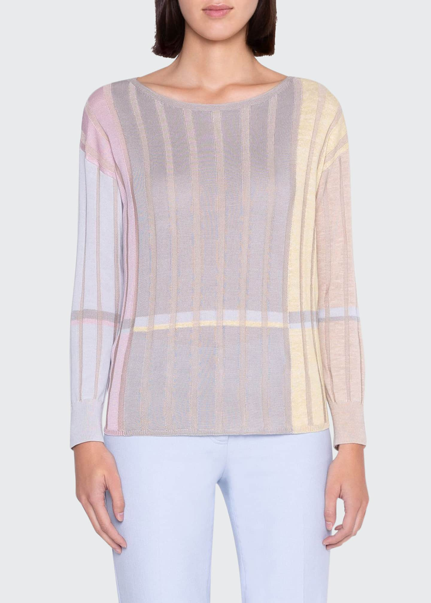 Image 1 of 3: Variazoni Silk-Linen Sweater