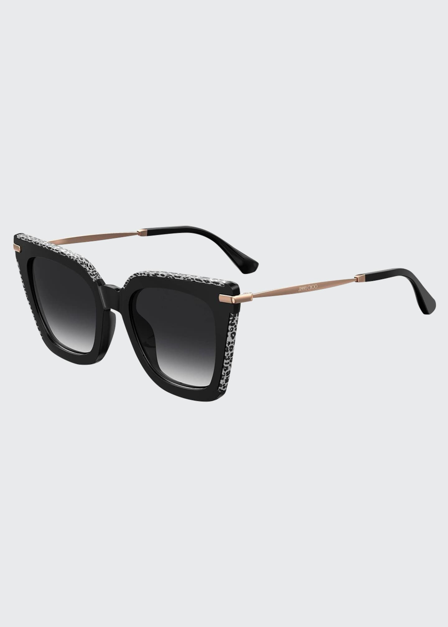 Jimmy Choo Ciarags Square Propionate Sunglasses