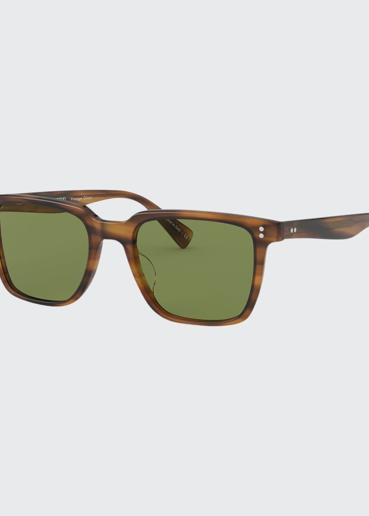 Oliver Peoples Men's Lachman Square Acetate Sunglasses