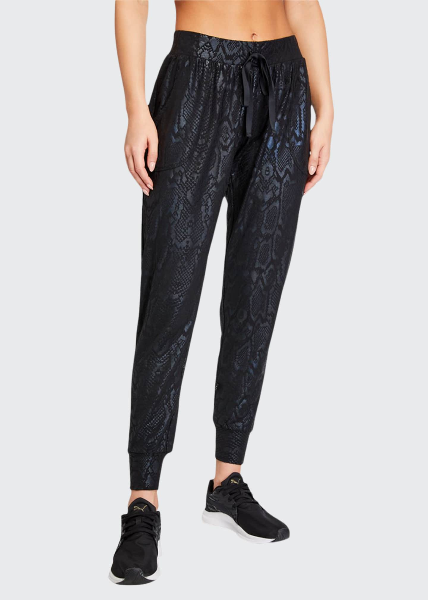 Image 1 of 3: Snake Foil Printed Jogger Pants