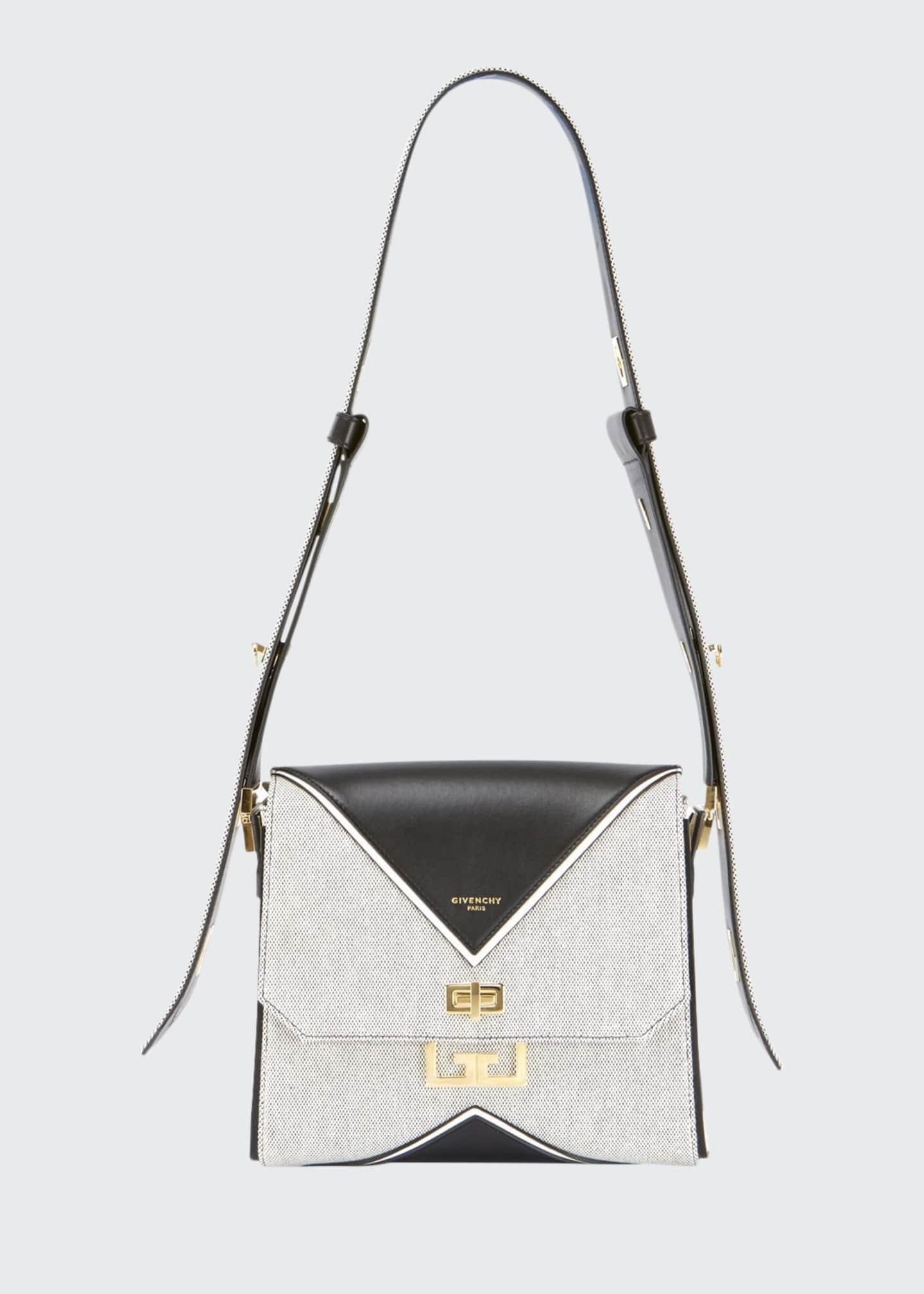 Givenchy Eden Medium Canvas Shoulder Bag