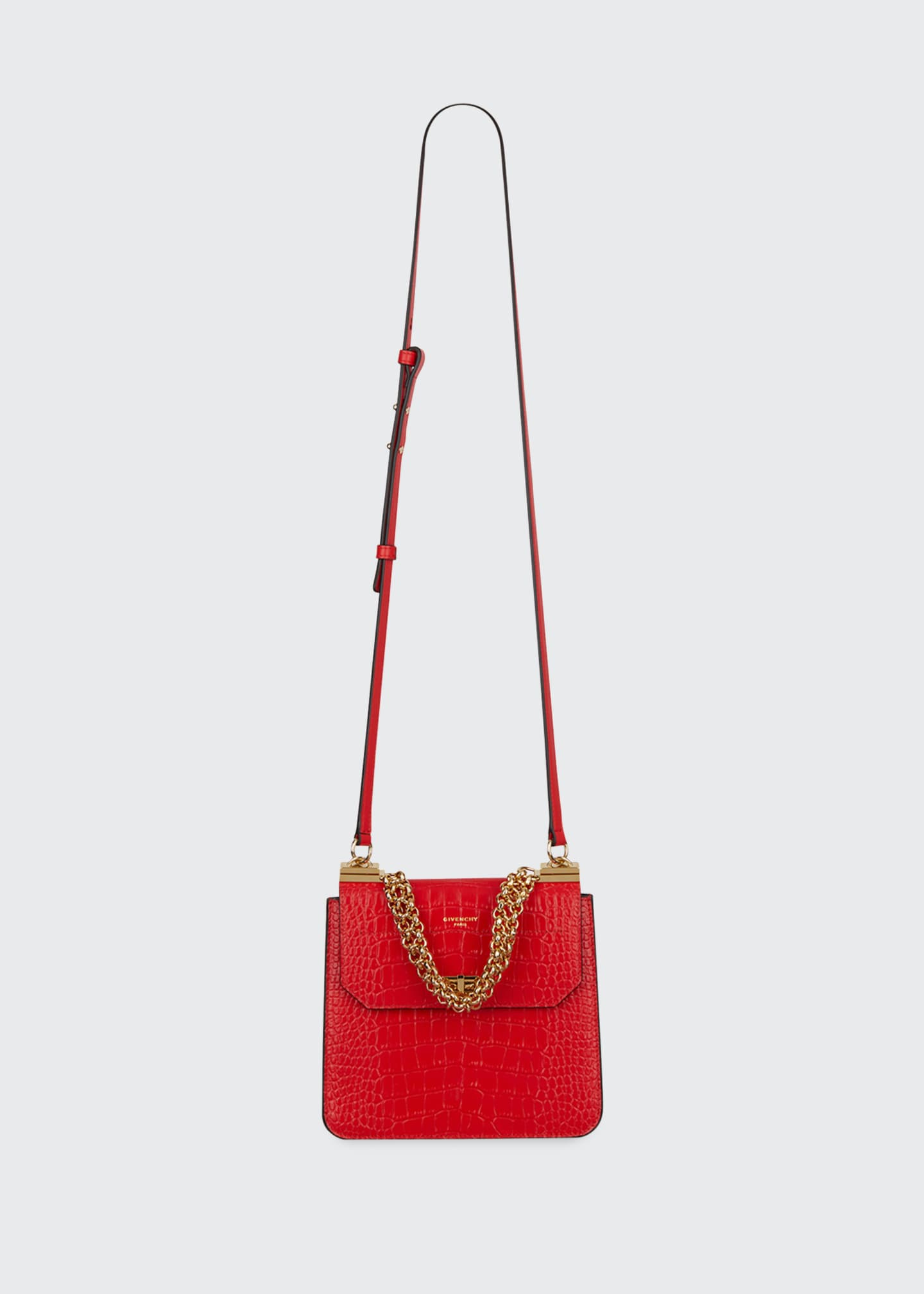 Givenchy Catena Medium Crocodile Shoulder Bag