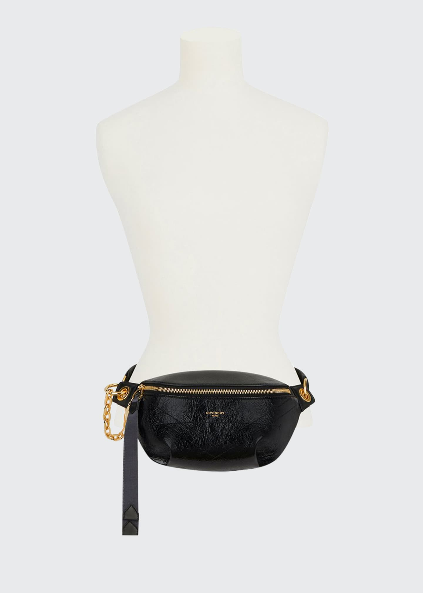 Givenchy Leather Chained Belt Bag