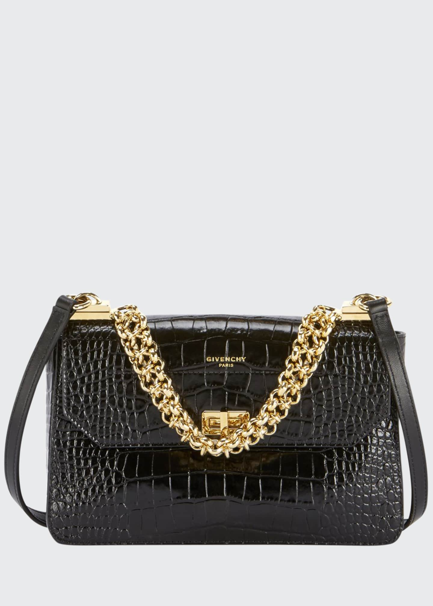 Givenchy Catena Small Crocodile Shoulder Bag