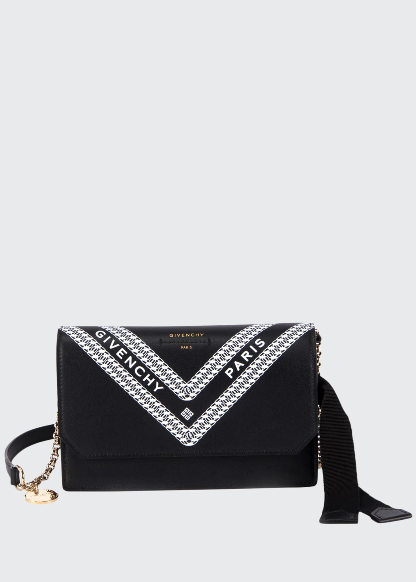 Givenchy Wing Chain Printed Wallet