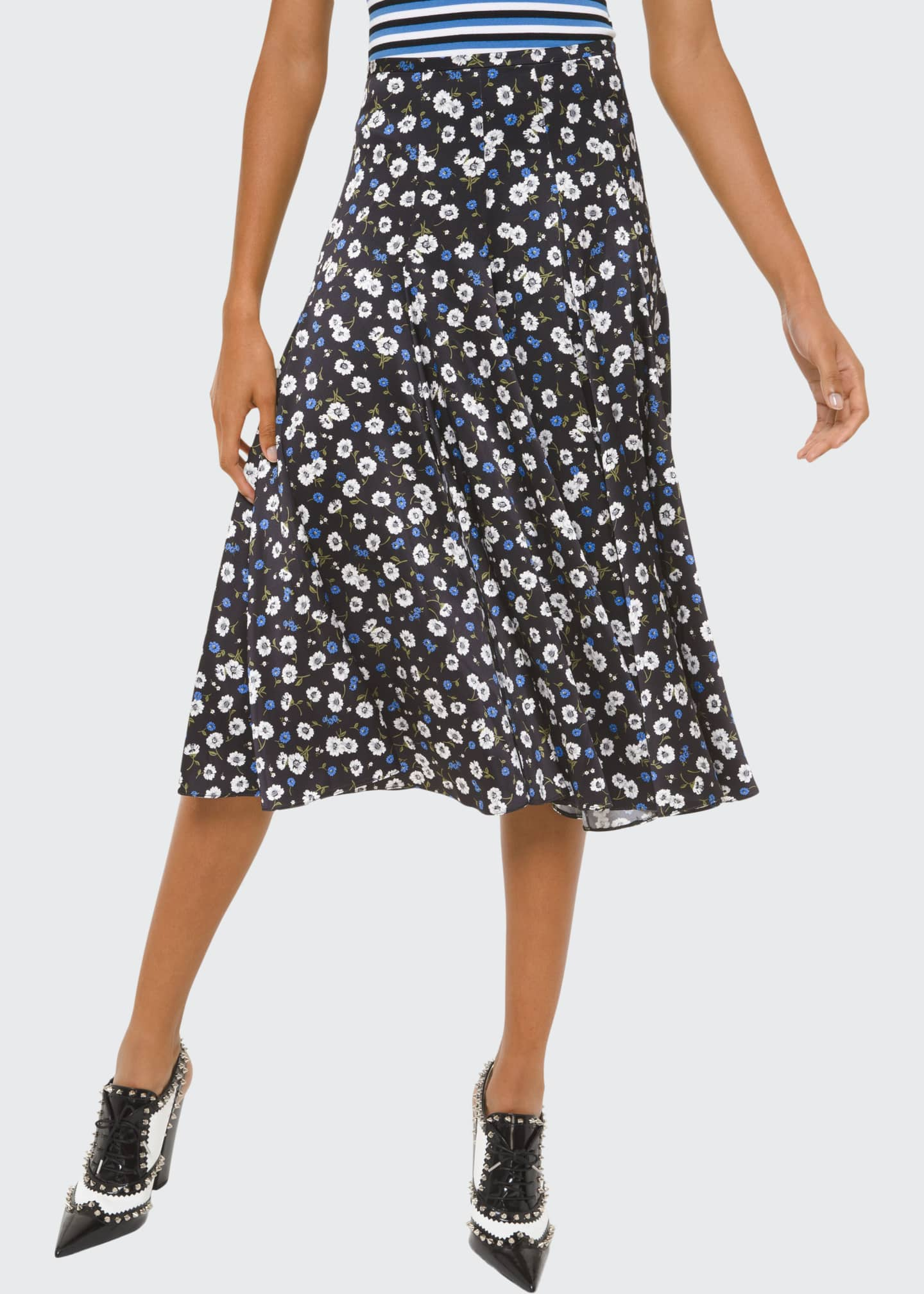Michael Kors Collection Silk Dance Skirt