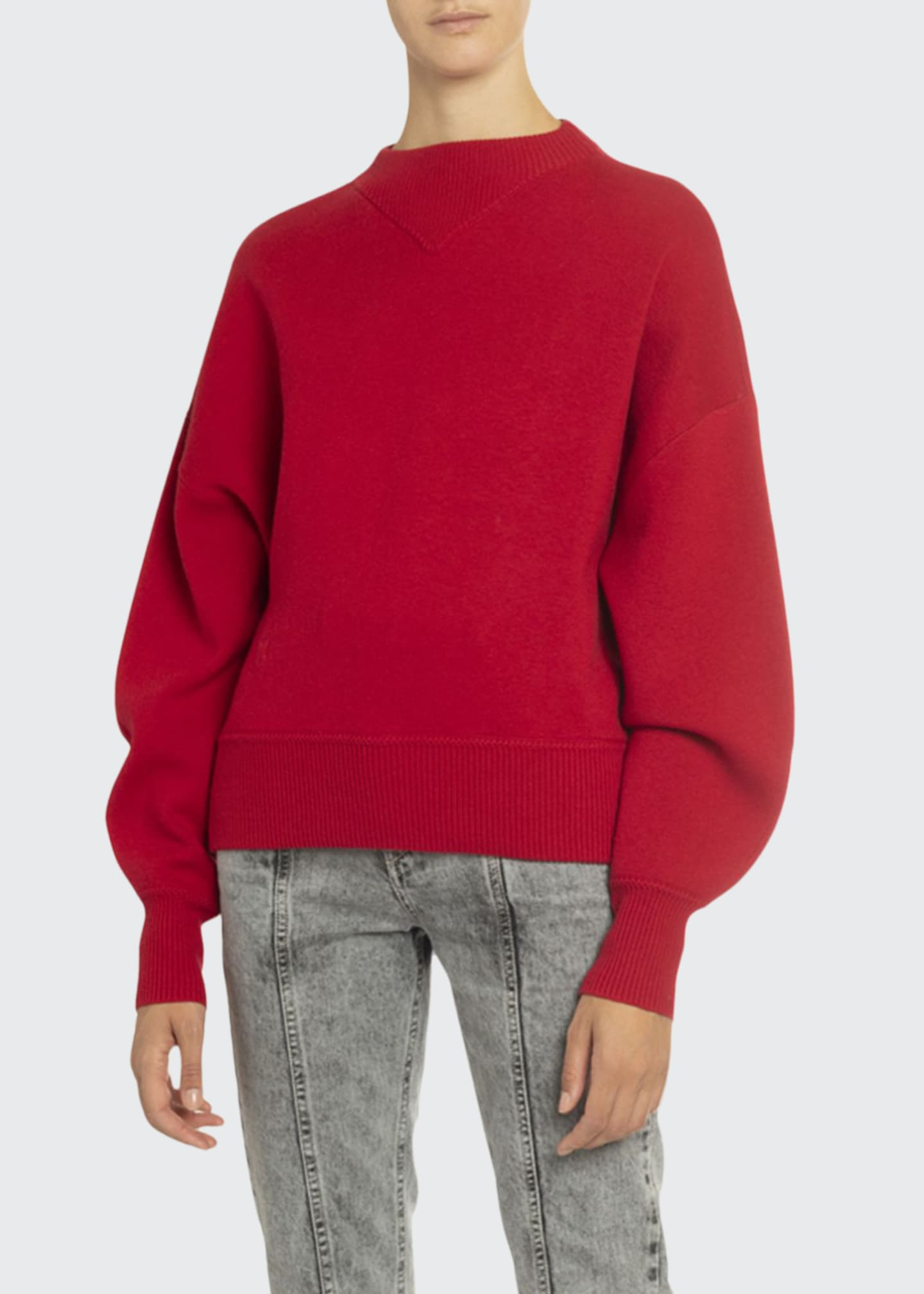 Etoile Isabel Marant Karl Crewneck Pullover Sweater