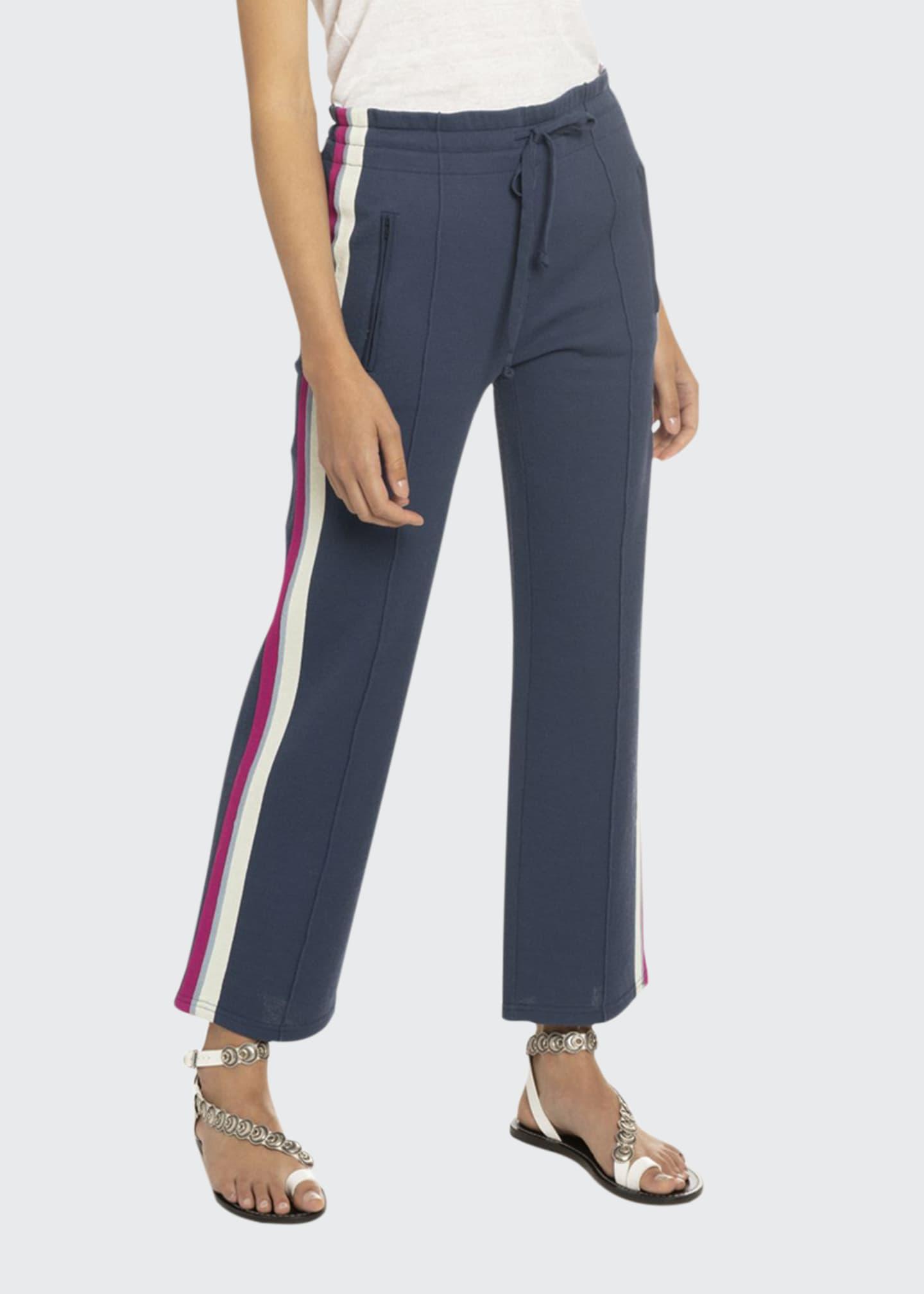 Etoile Isabel Marant Dobbs Sporty-Knit Drawstring Jogger Pants