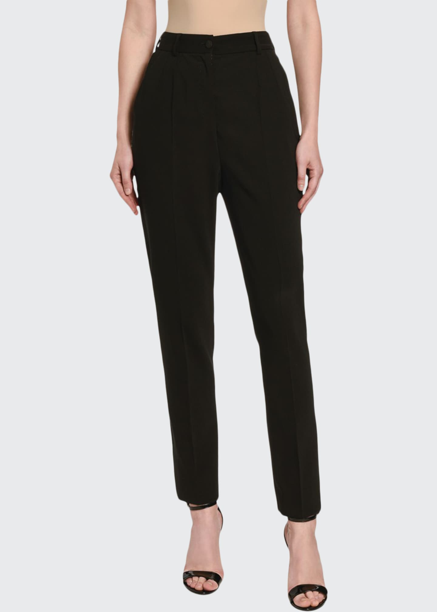 Image 1 of 3: Wool Skinny Pants