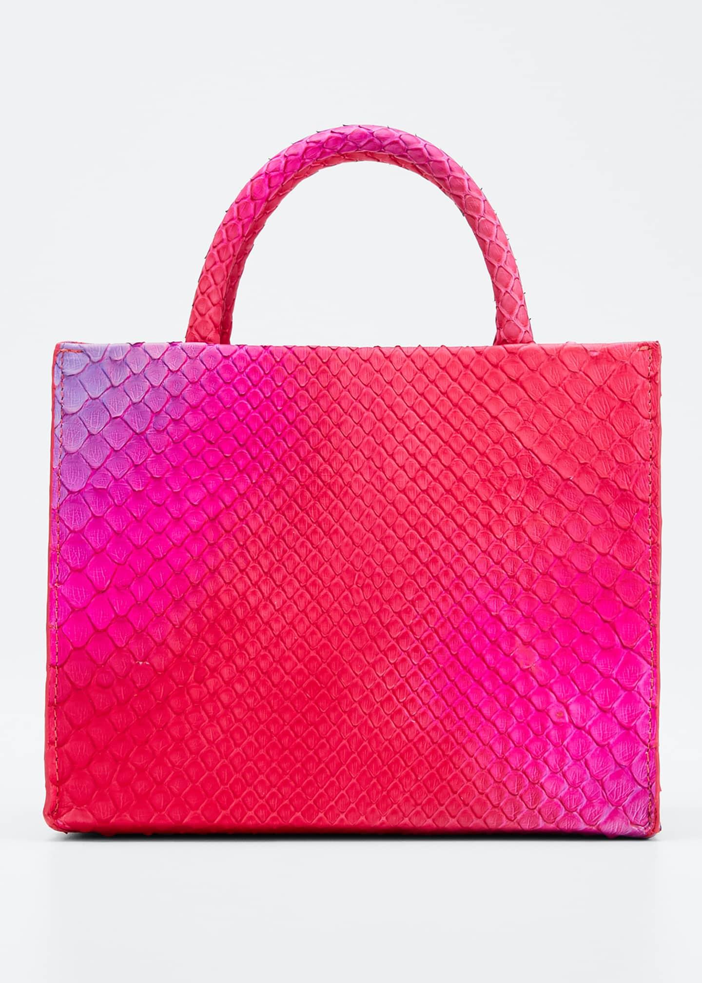 Nancy Gonzalez Python Mini Tote Bag