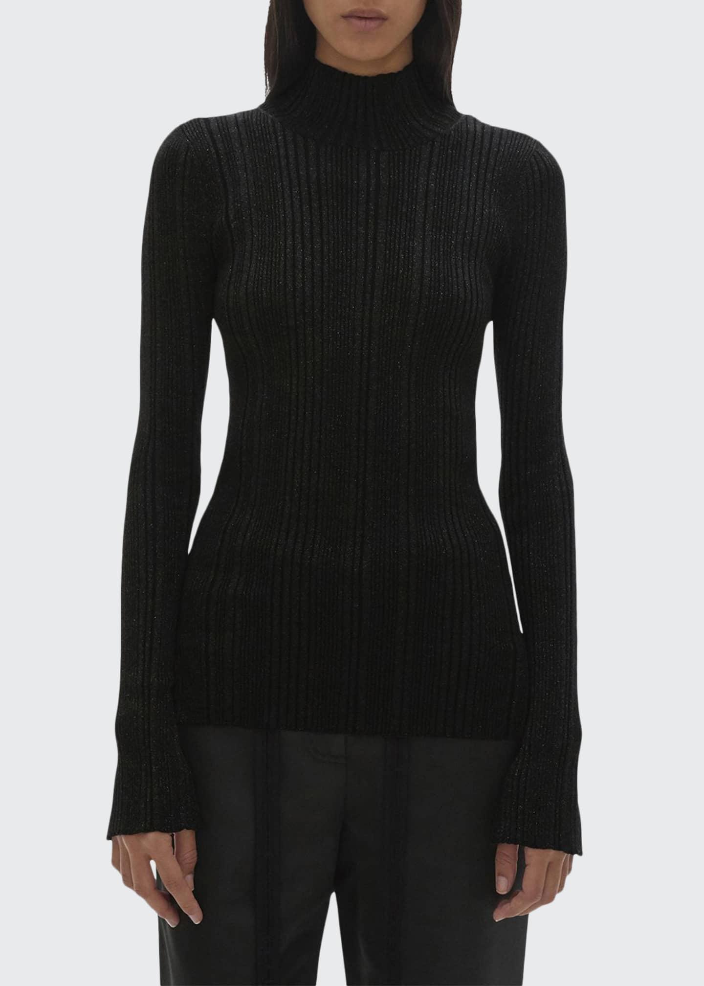 Helmut Lang Ribbed Turtleneck Sweater