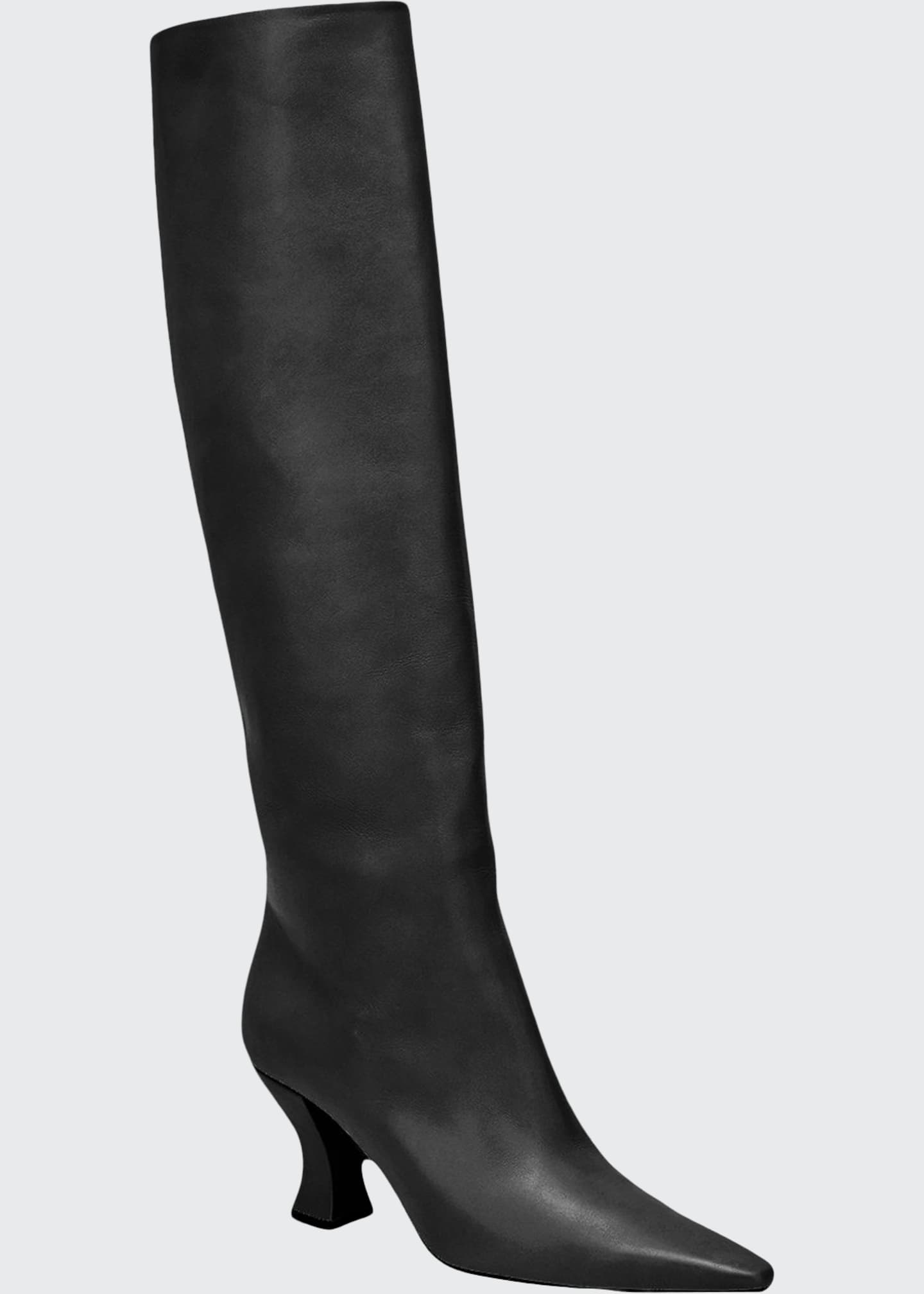 Bottega Veneta Cloud Calf Leather Tall Boots