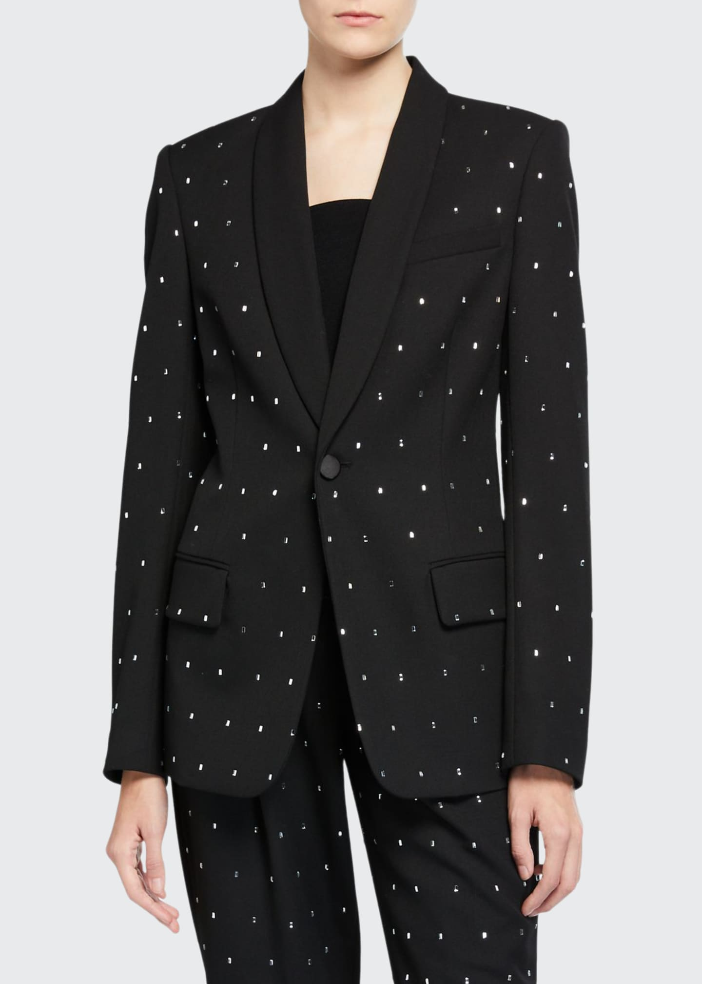 A.L.C. Oren Crystal-Embellished Jacket