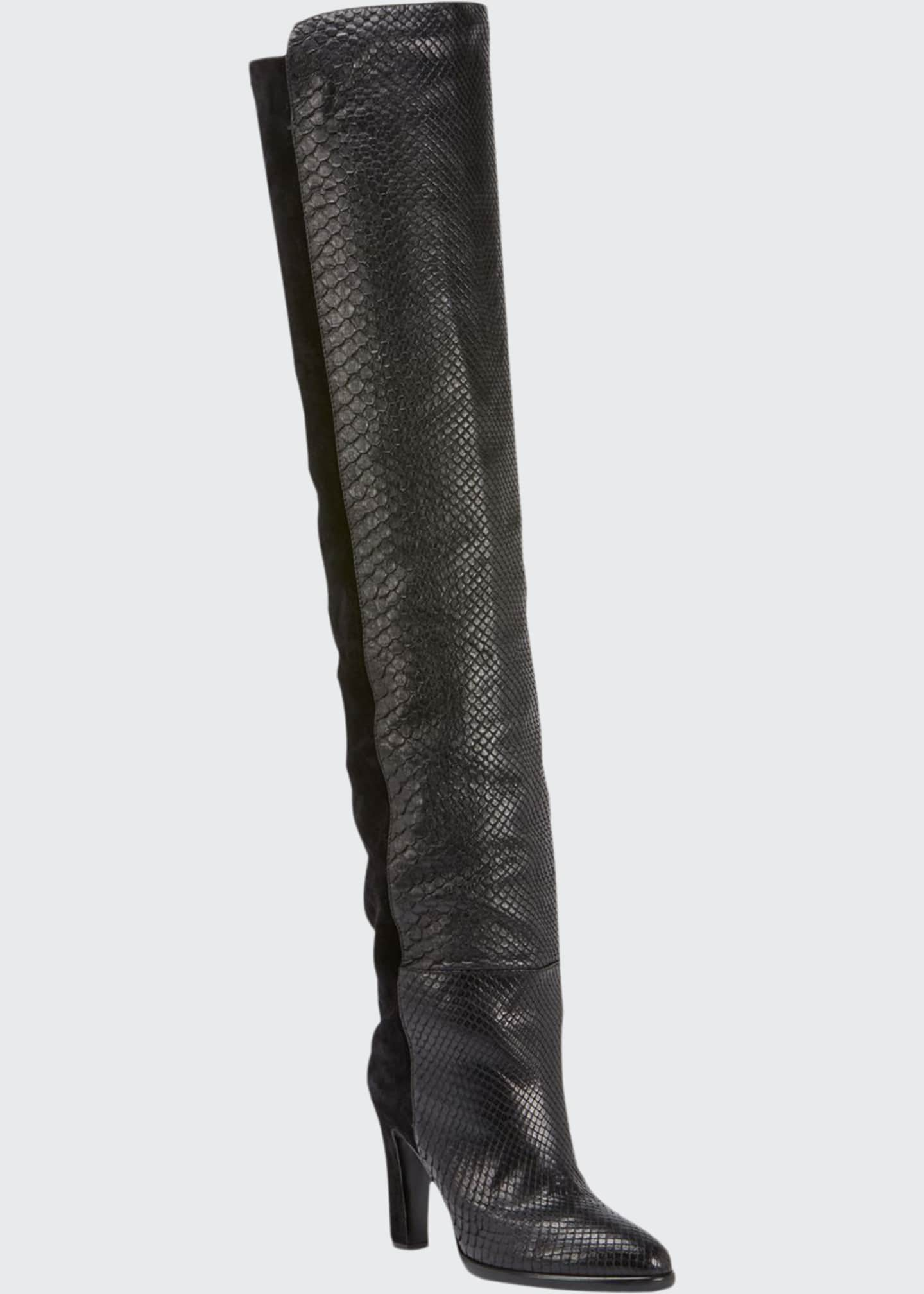 Givenchy Mayfair Over-The-Knee Boots