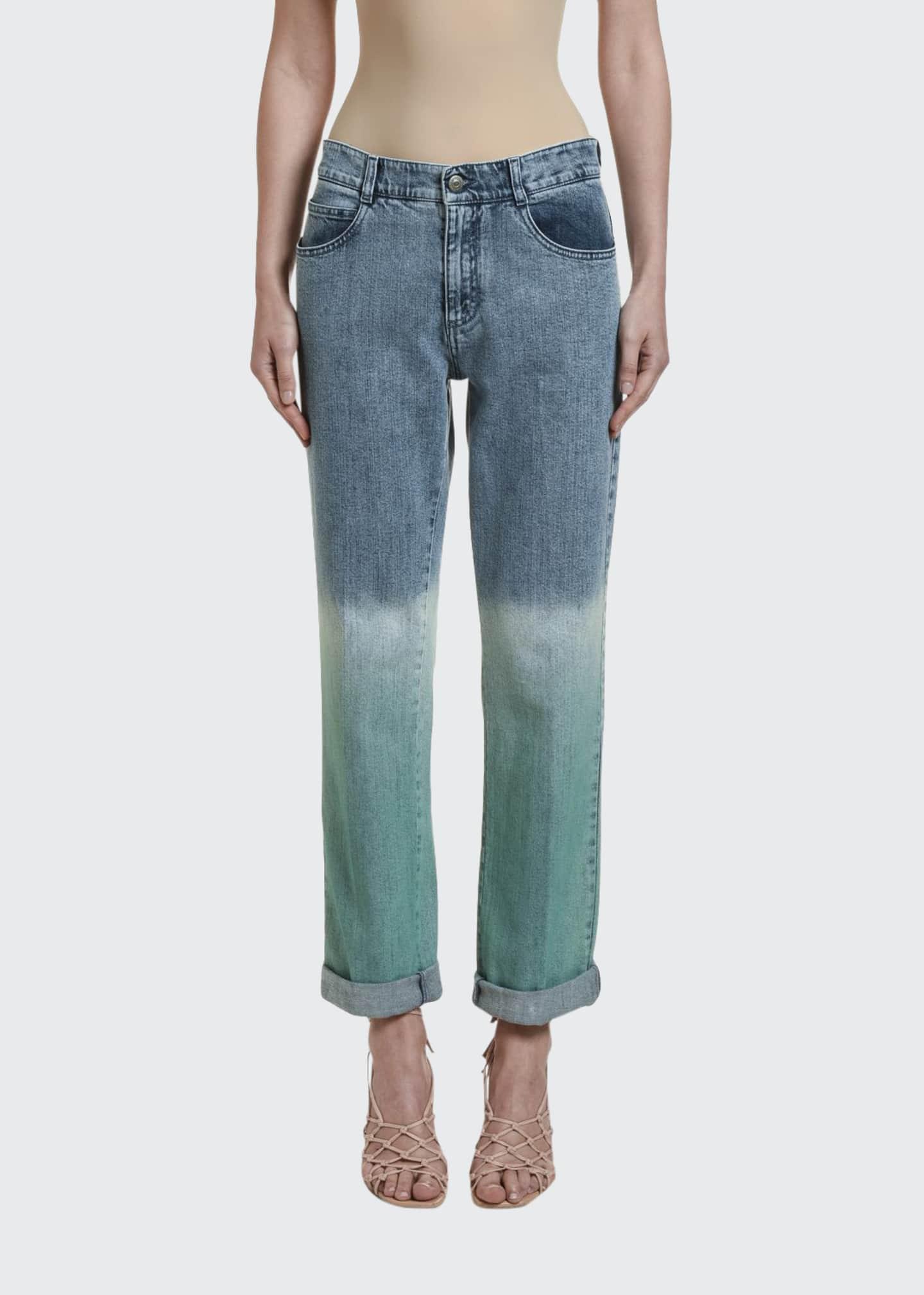 Stella McCartney Degrade Slim-Fit Jeans