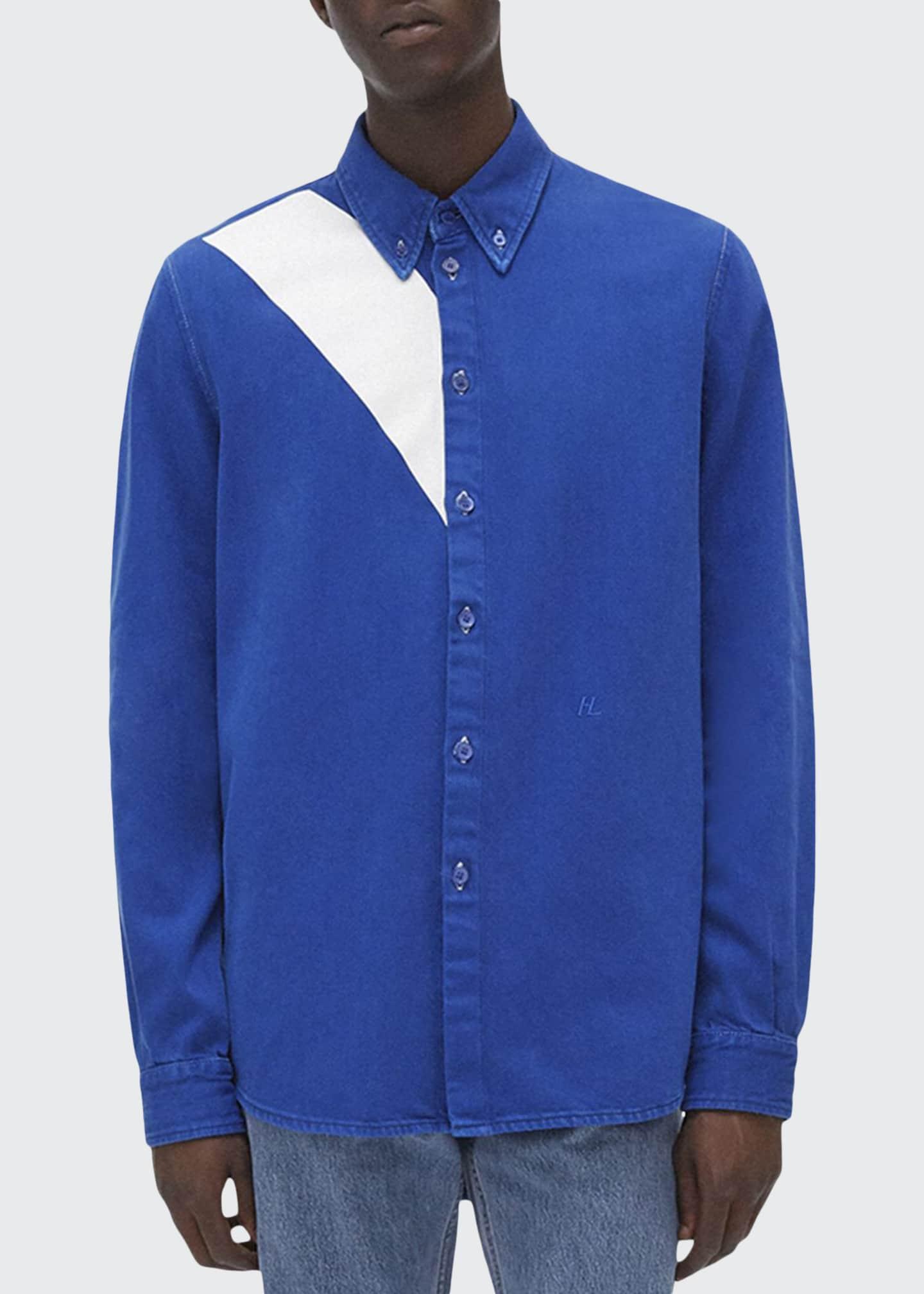 Helmut Lang Men's Masc Slash Overshirt