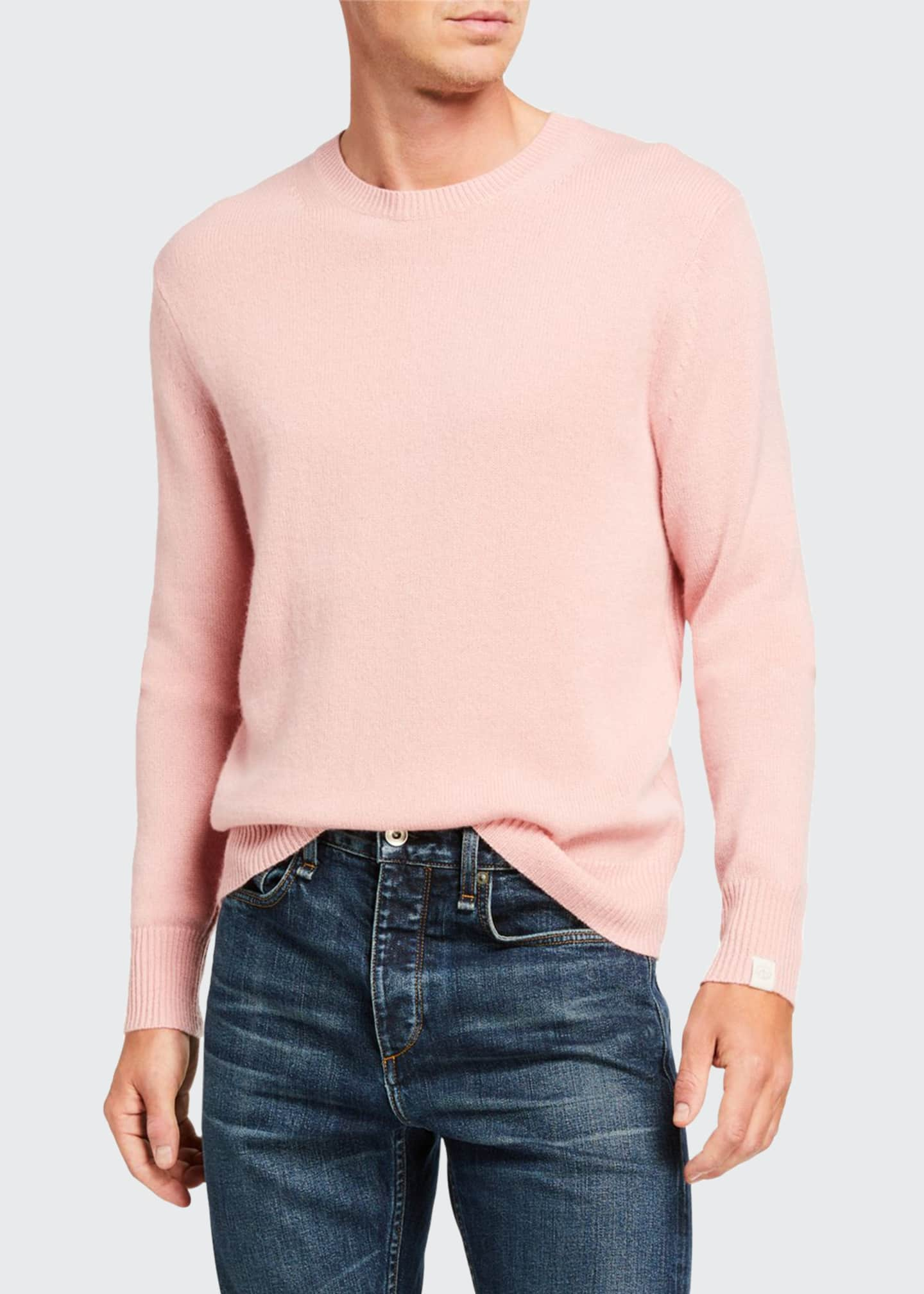Rag & Bone Men's Haldon Crewneck Cashmere Sweater