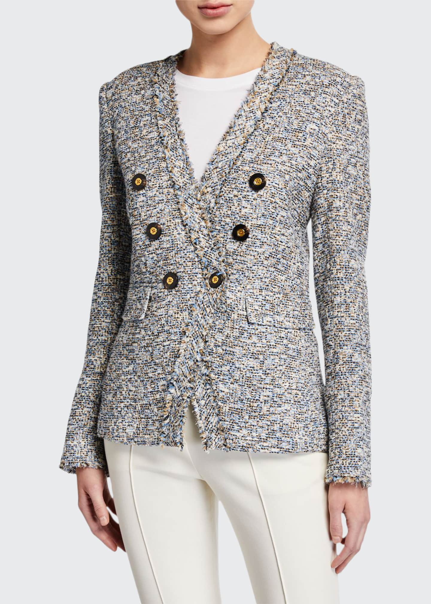 Image 1 of 2: Cedric Tweed Dickey Blazer