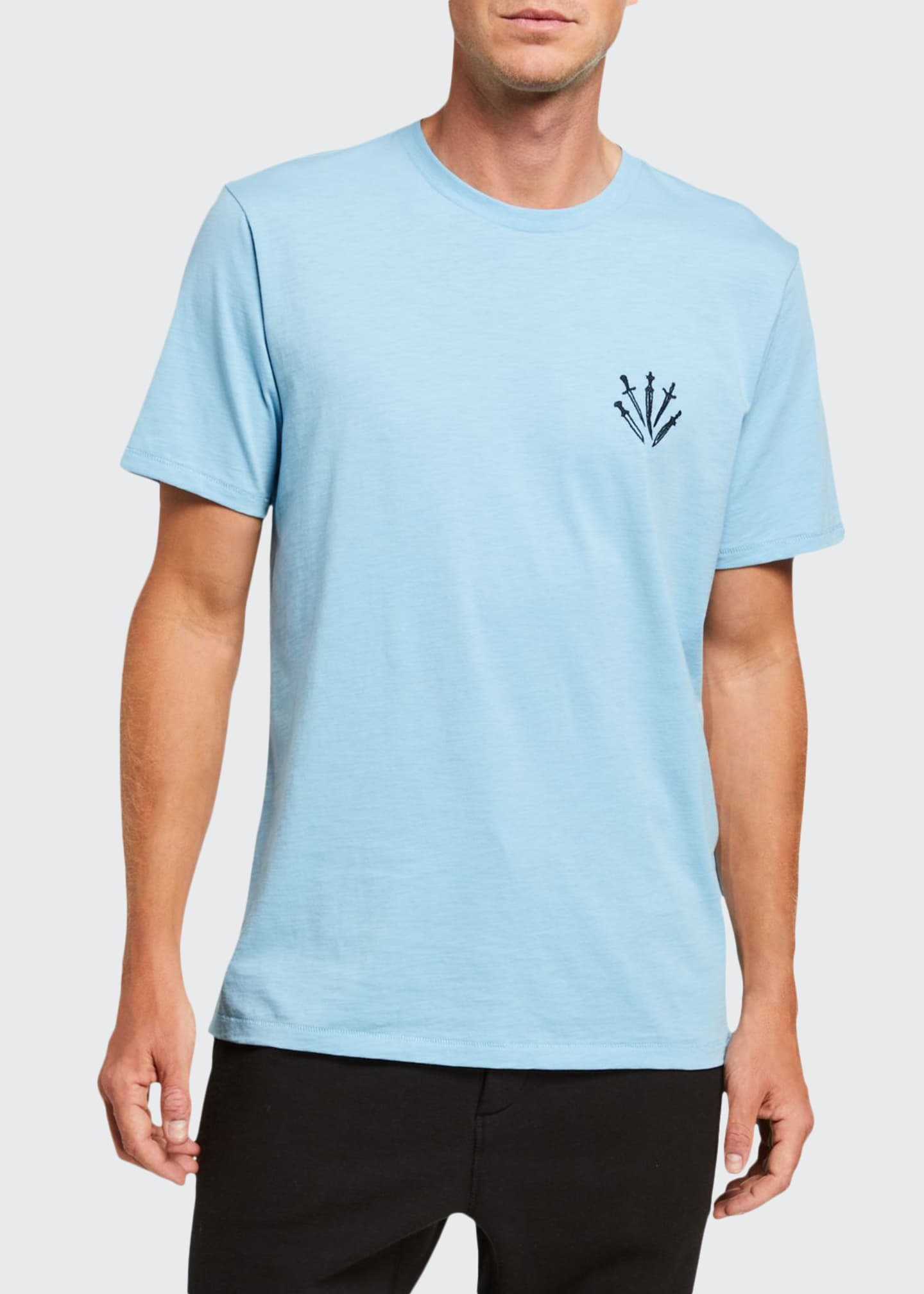 Rag & Bone Men's Dagger Logo Crewneck T-Shirt