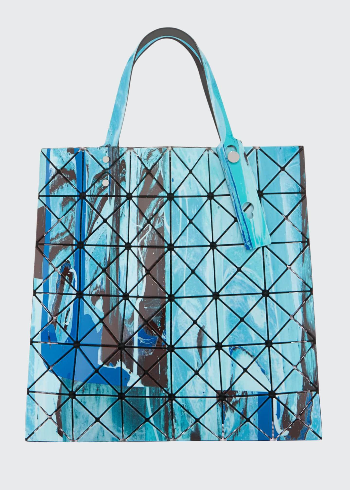 BAO BAO ISSEY MIYAKE Gravity Painted Tote Bag