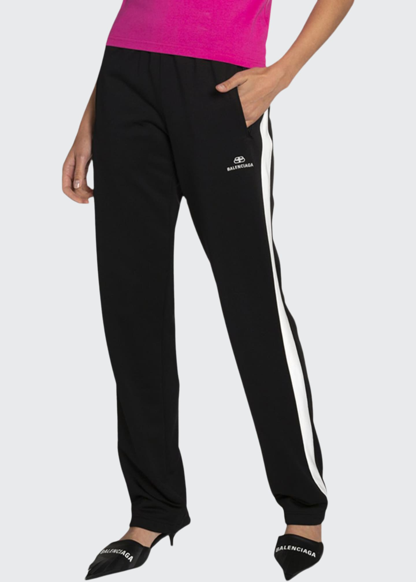 Image 1 of 4: Jersey Track Pants