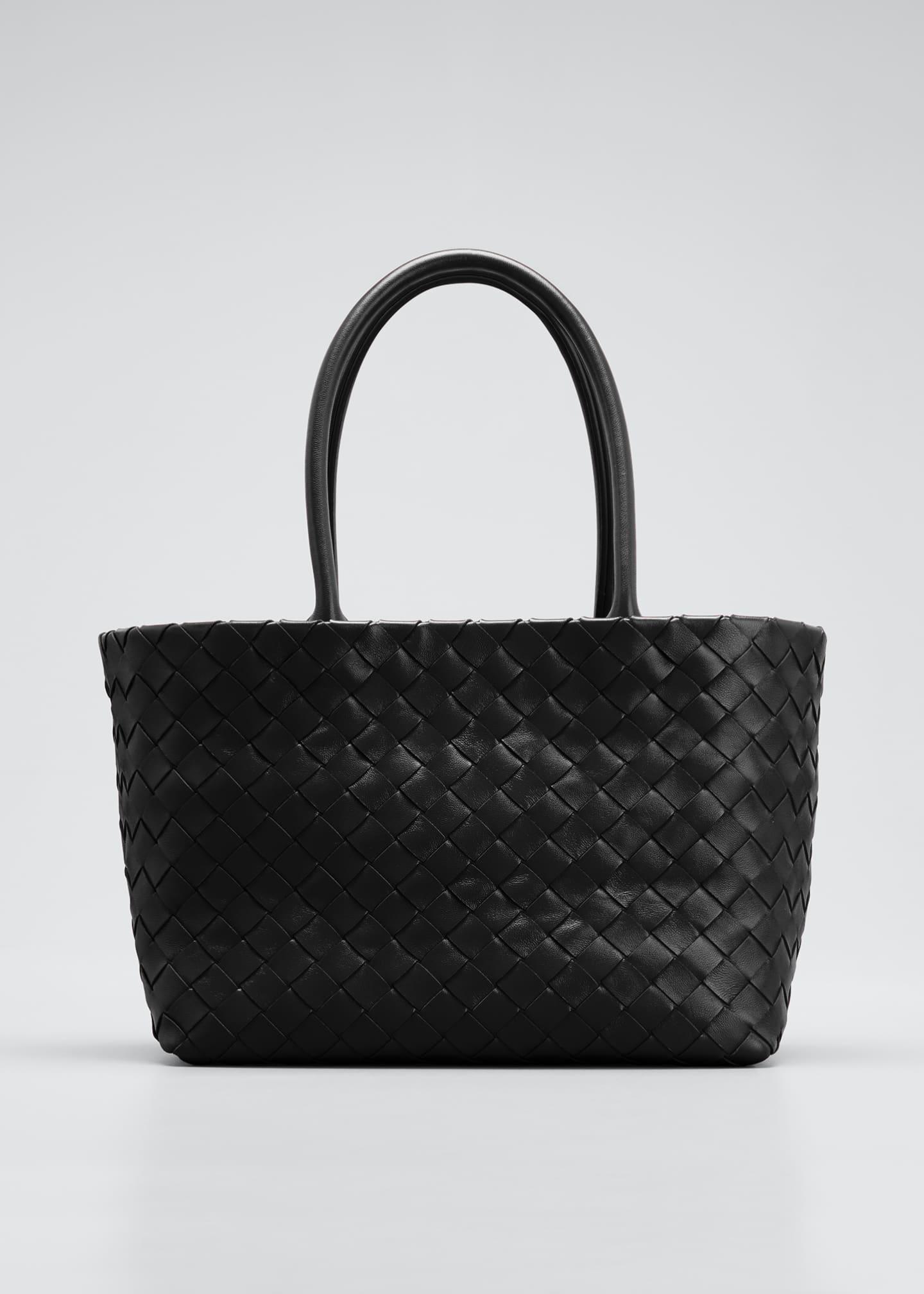 Bottega Veneta Mini Woven Top Handle Bag
