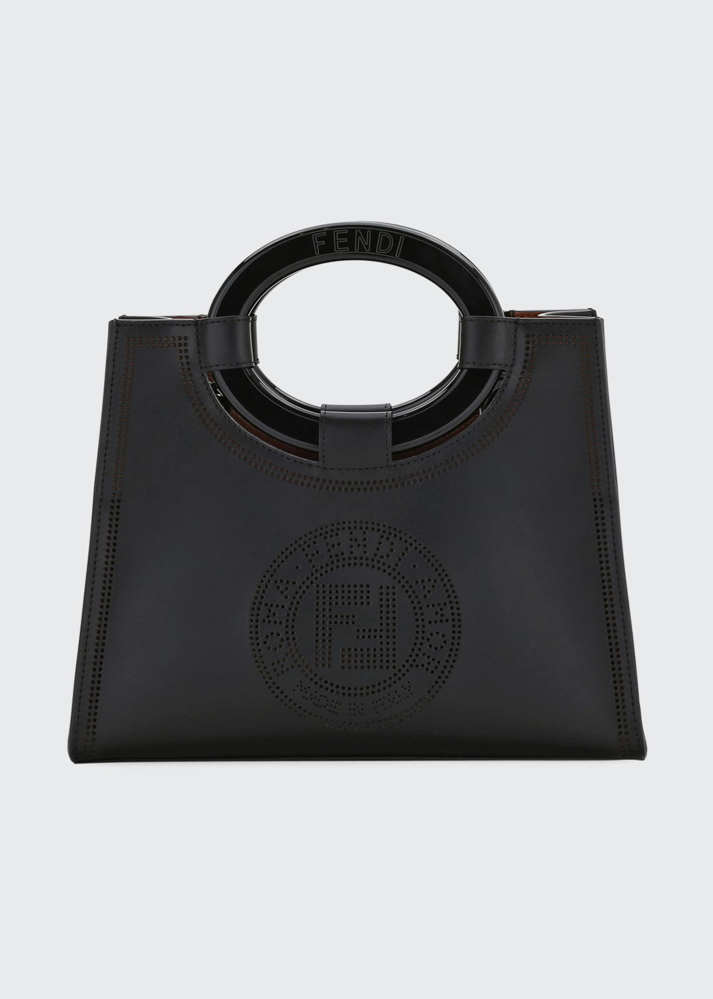 Fendi Runaway Small Liberty Stamp Tote Bag
