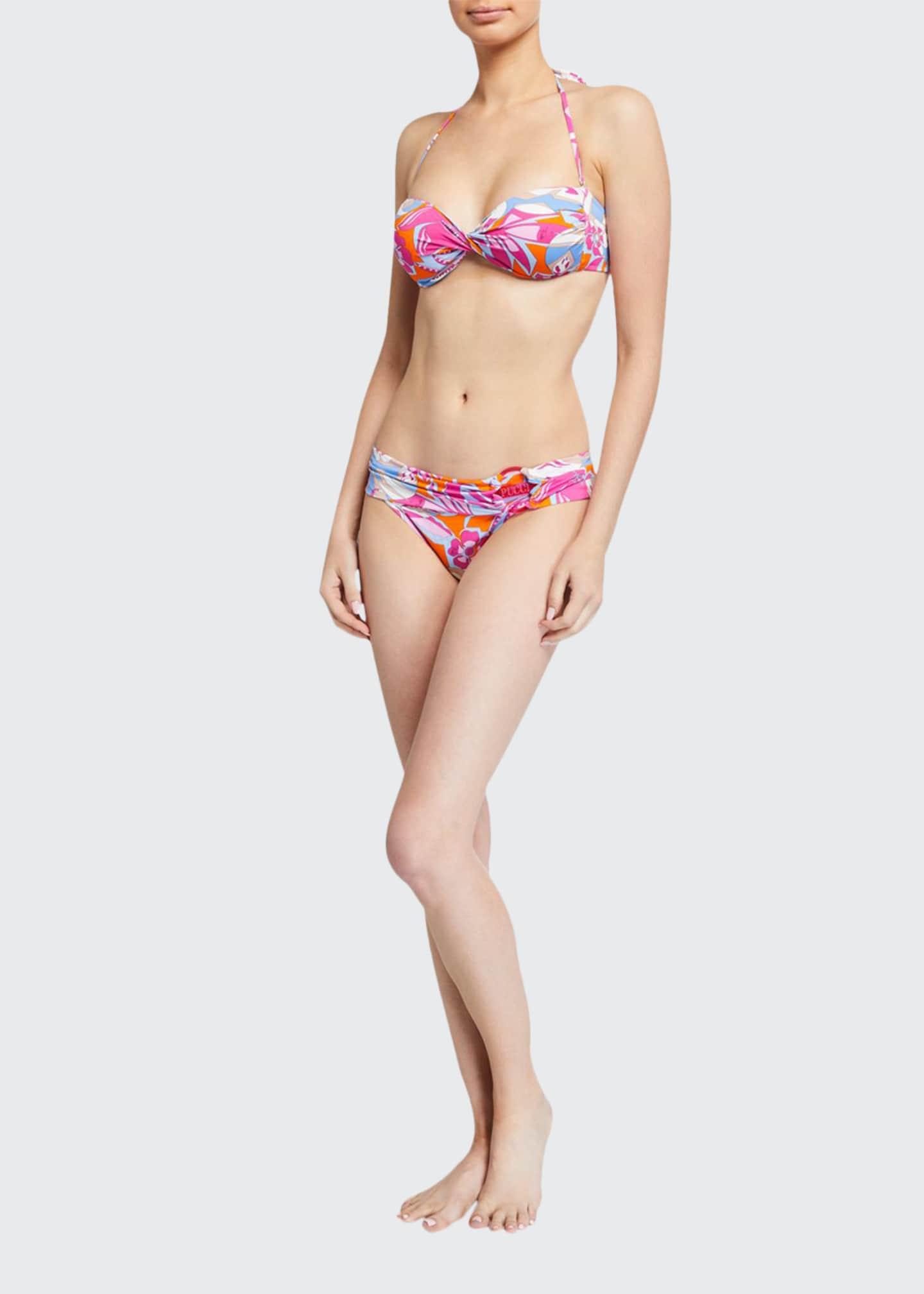 Emilio Pucci Two-Piece Bandeau Bikini