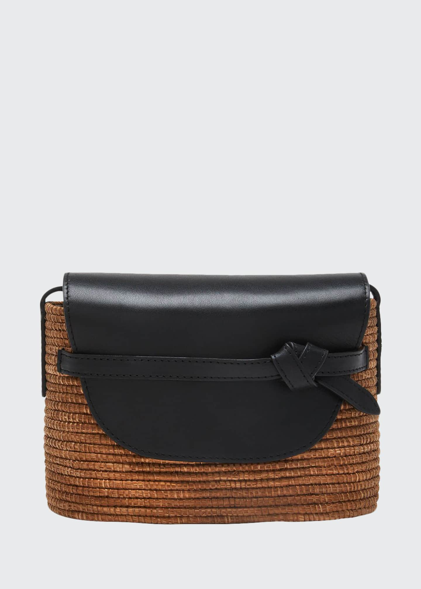 Cesta Collective Camel Woven Crossbody Bag